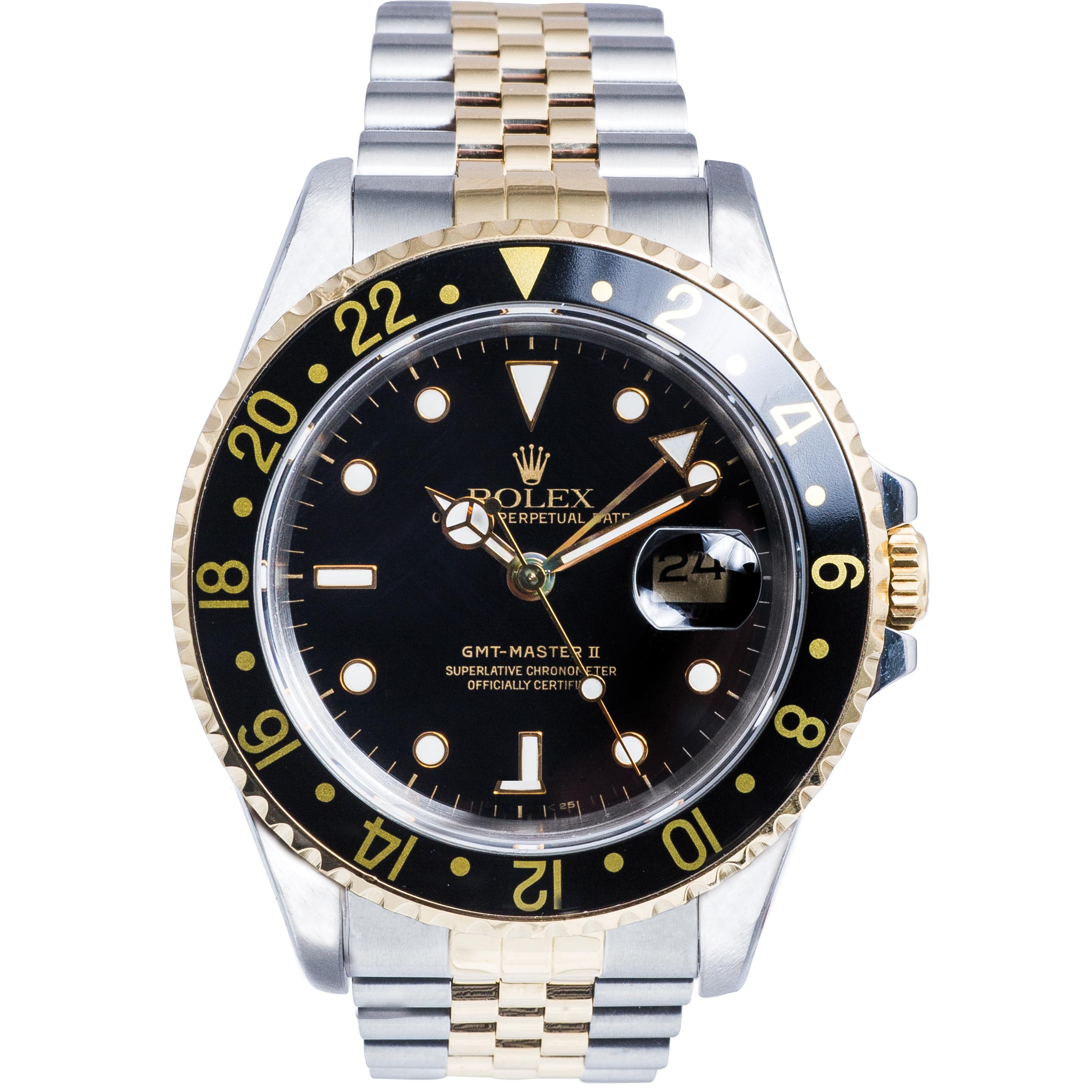 Pre-Owned Men's Two-Tone Rolex GMT-Master II
