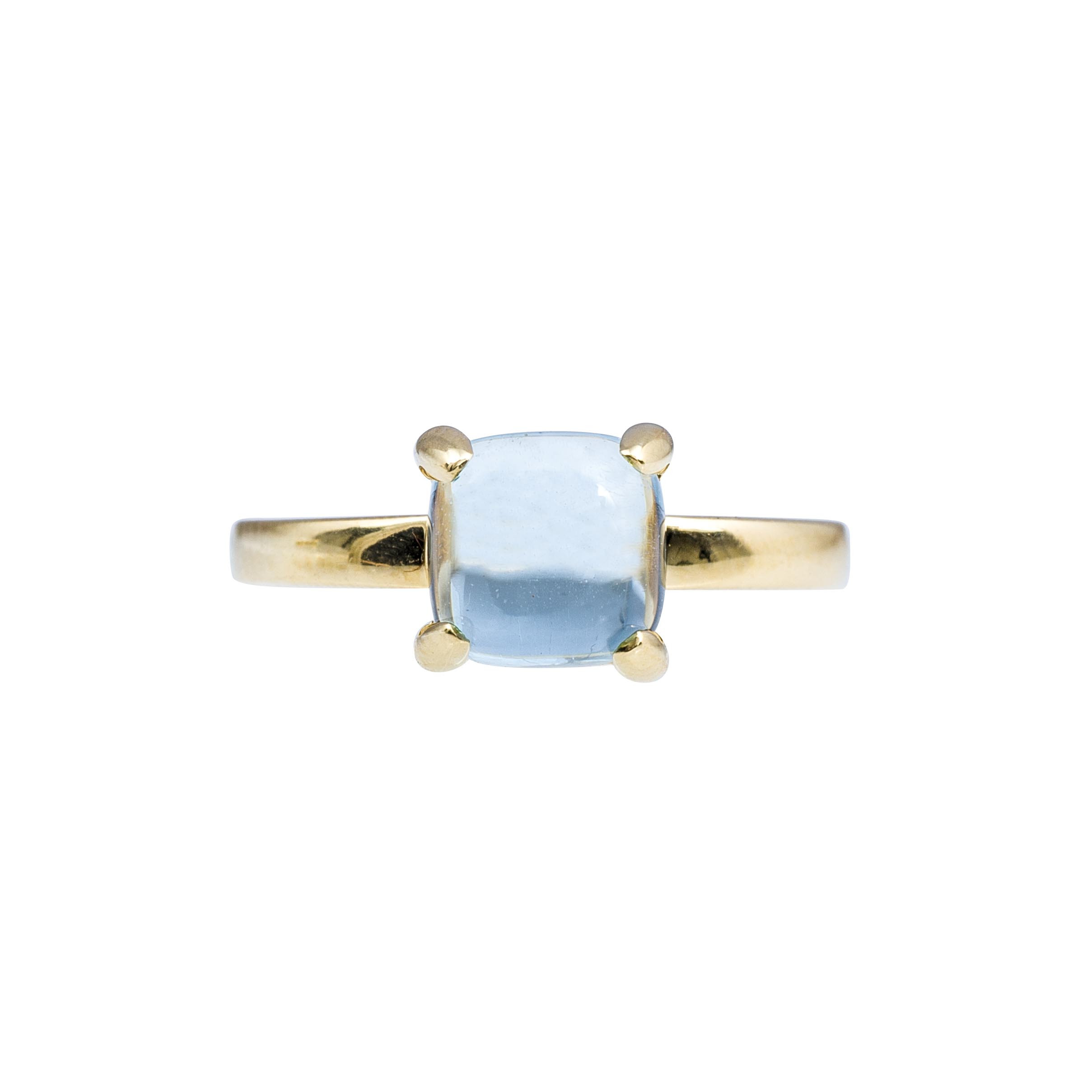 1420c8266 Indentifying header for breadcrumps-wrapper. Home; Vintage Tiffany & Co.  Paloma Picasso Sugar Stacks Blue Topaz Ring