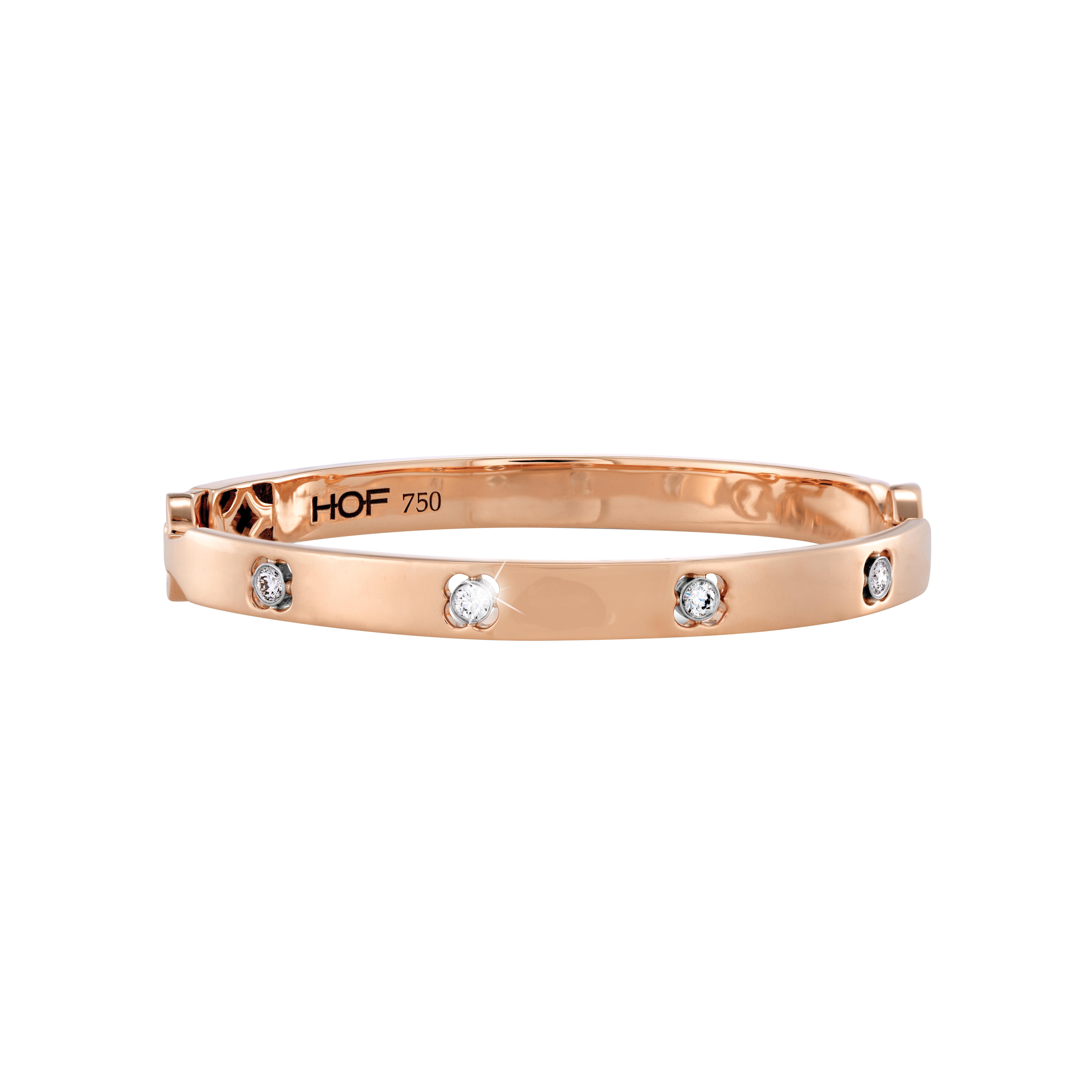 New Hearts On Fire® 0.22 CTW Diamond Copley Bangle Bracelet