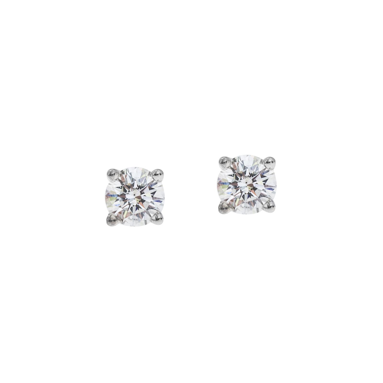 Vintage 0.20 CTW Diamond Stud Earrings