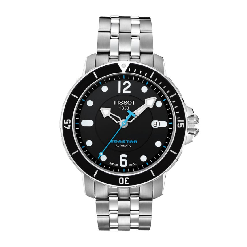 734141b2f9a New Men s Tissot Seastar Automatic Gallery Image