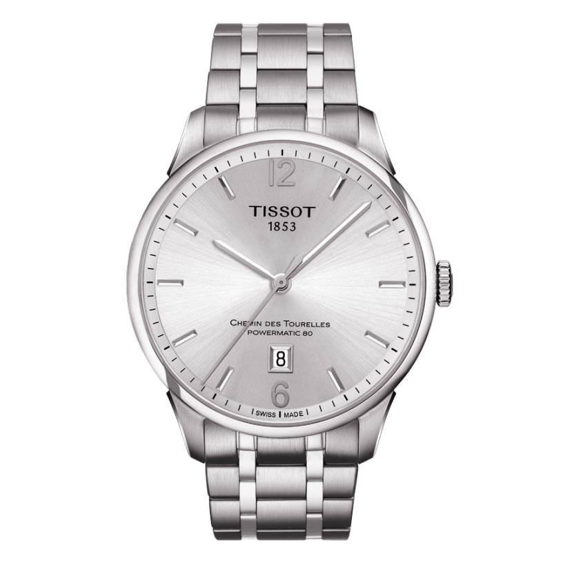 New Men's Tissot Chemin des Tourelles Automatic