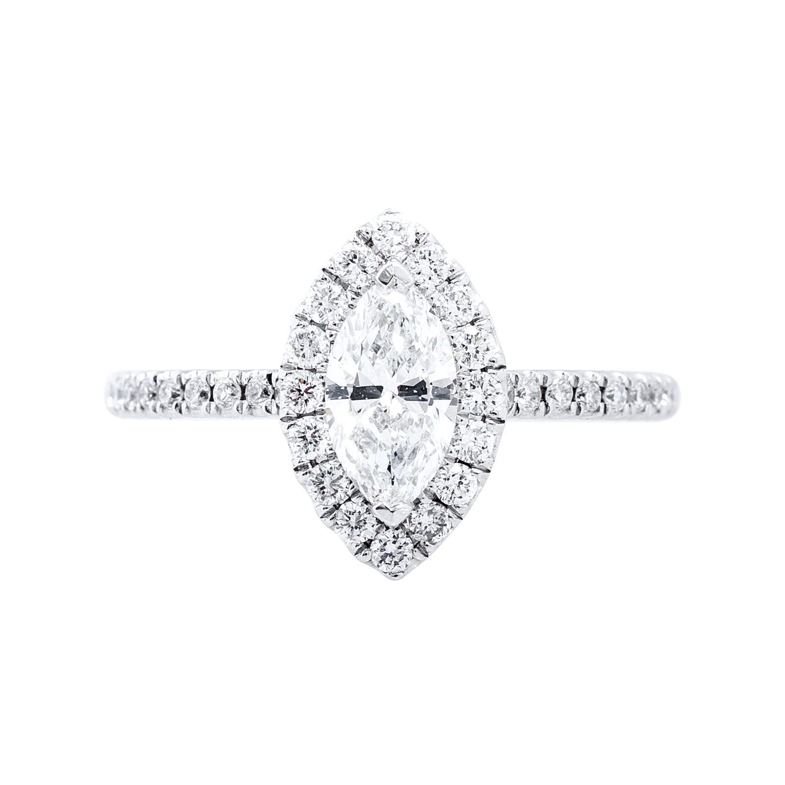 New 1.03 CTW Diamond Engagement Ring