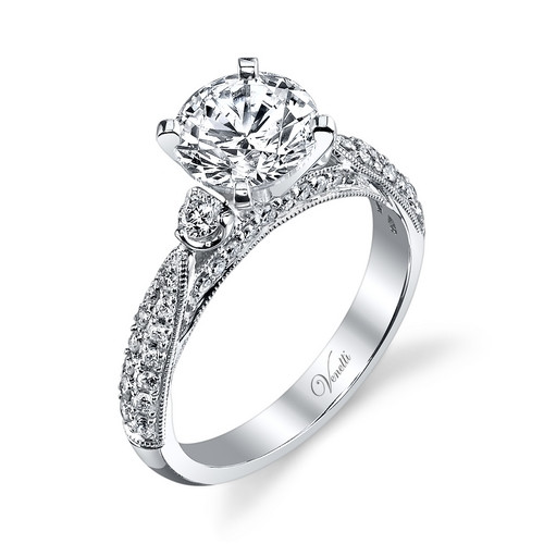 New Venetti 0.46 CTW Diamond Ring Setting