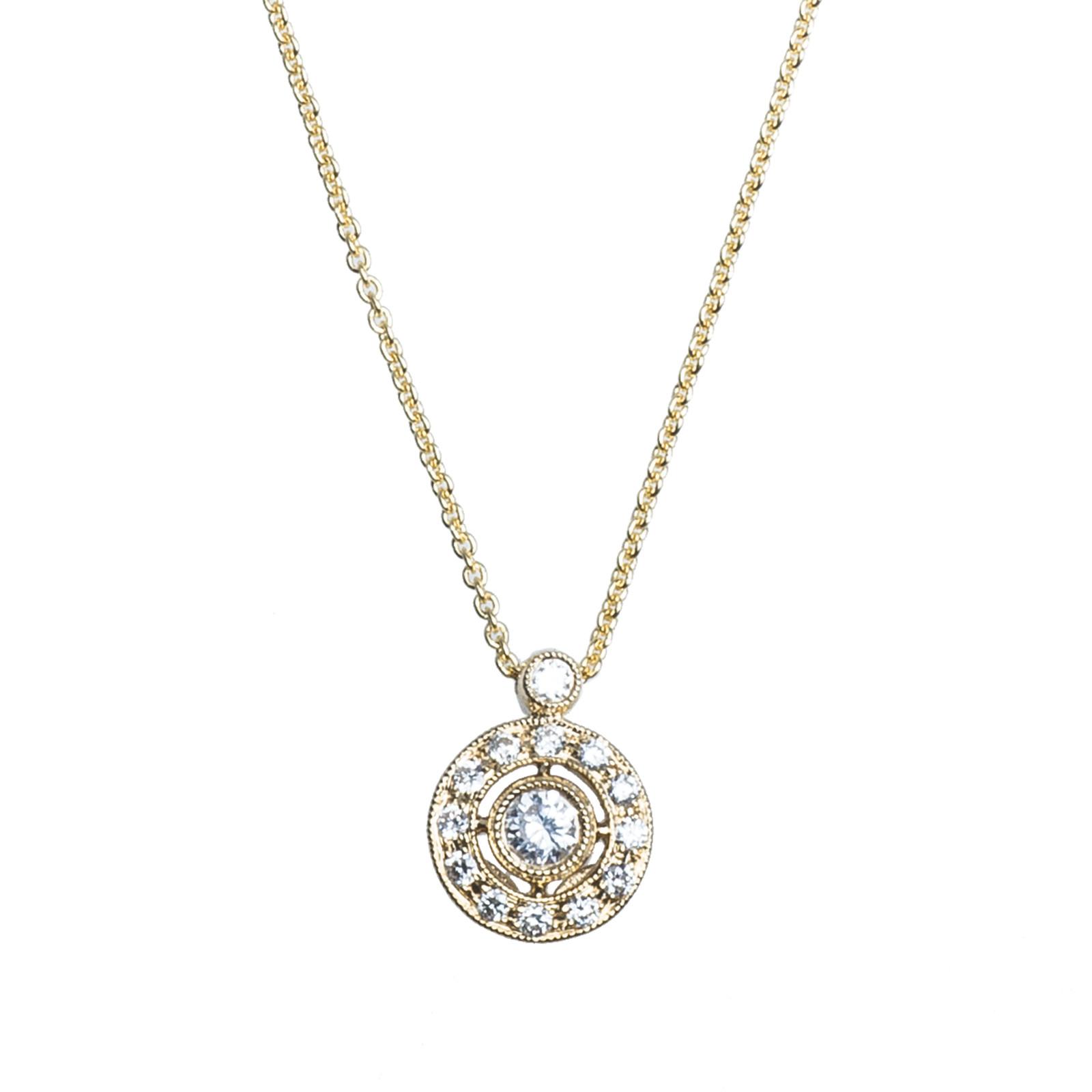 New Beverley K 0.20 CTW Diamond Necklace