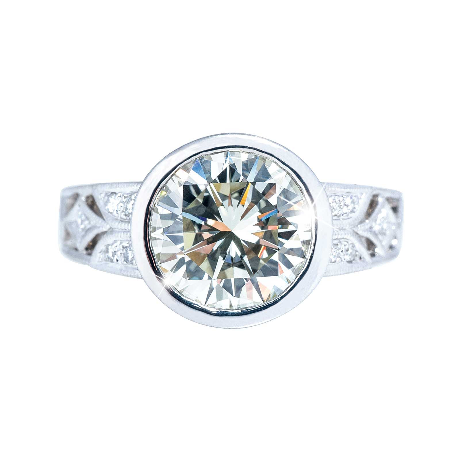 New Beverley K 2.31 CTW Diamond Engagement Ring