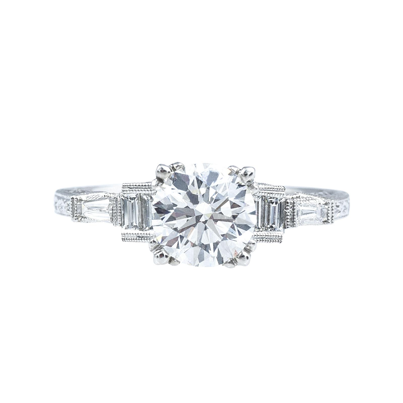 New Beverley K 1.43 CTW Diamond Engagement Ring