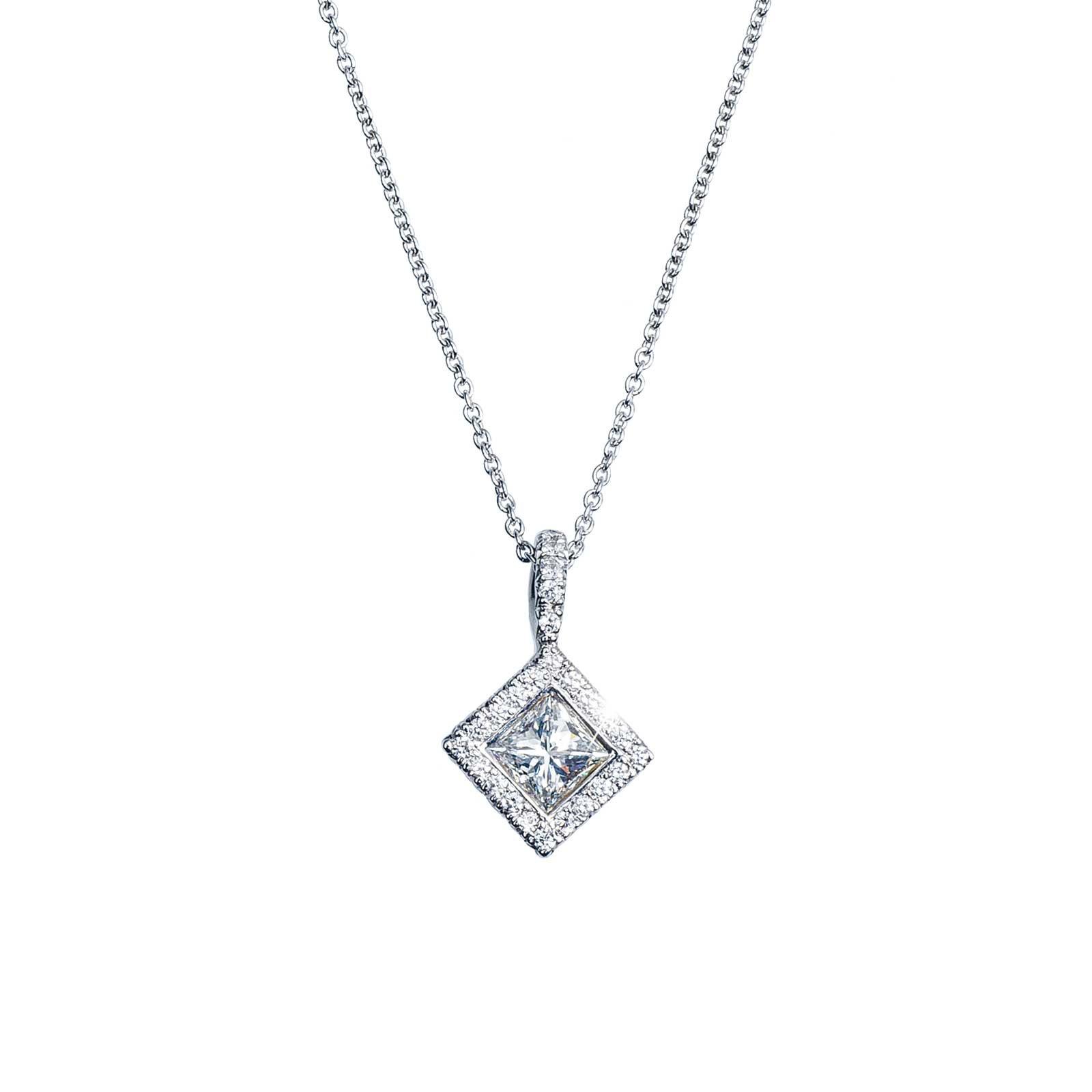 Vintage Kwiat 0.63 CTW Diamond Pendant