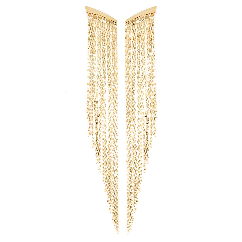 New Lana Long Fringe Earrings