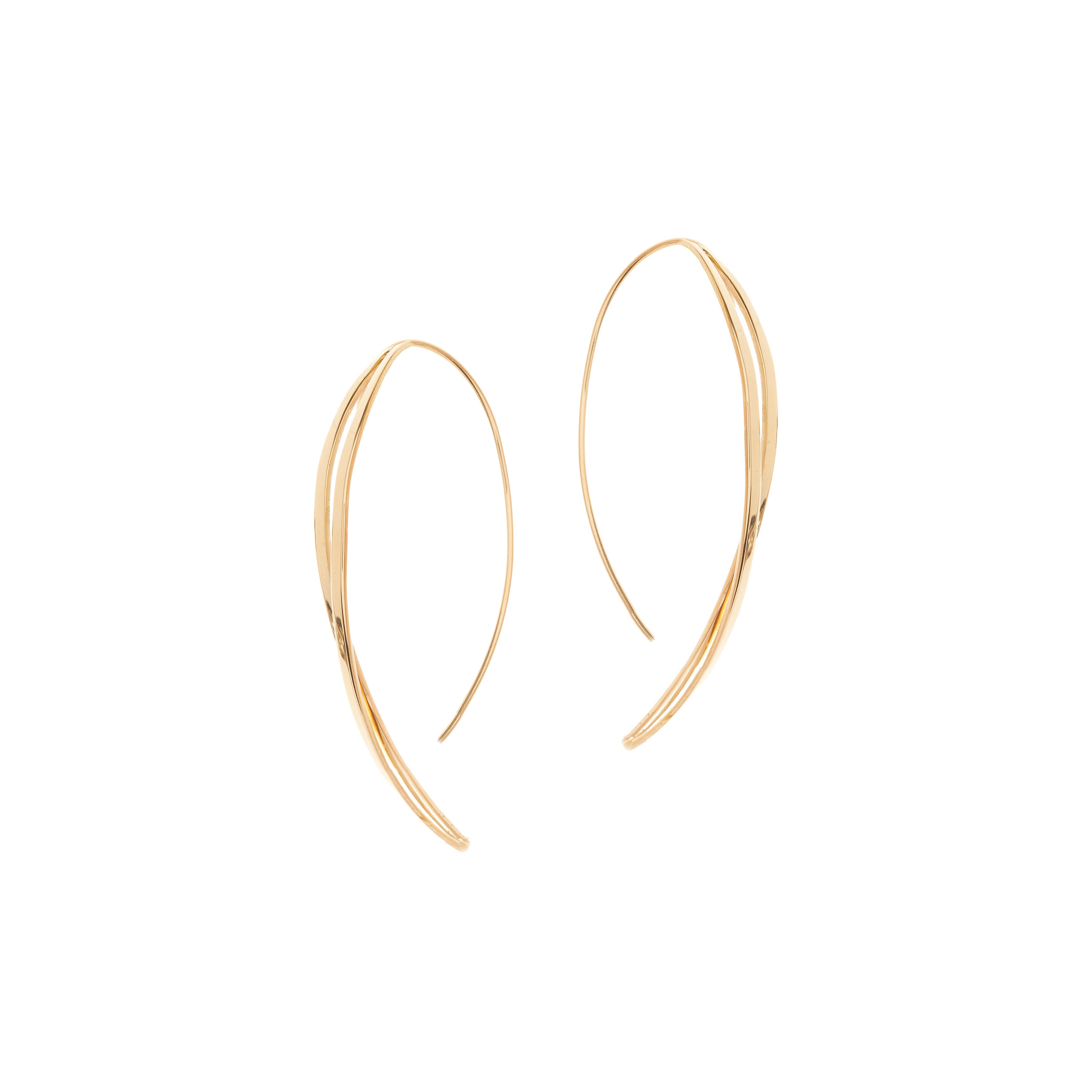 4fbd18e5096351 Indentifying header for breadcrumps-wrapper. Home; New Lana Jewelry Twist  Hooked On Hoop Earrings