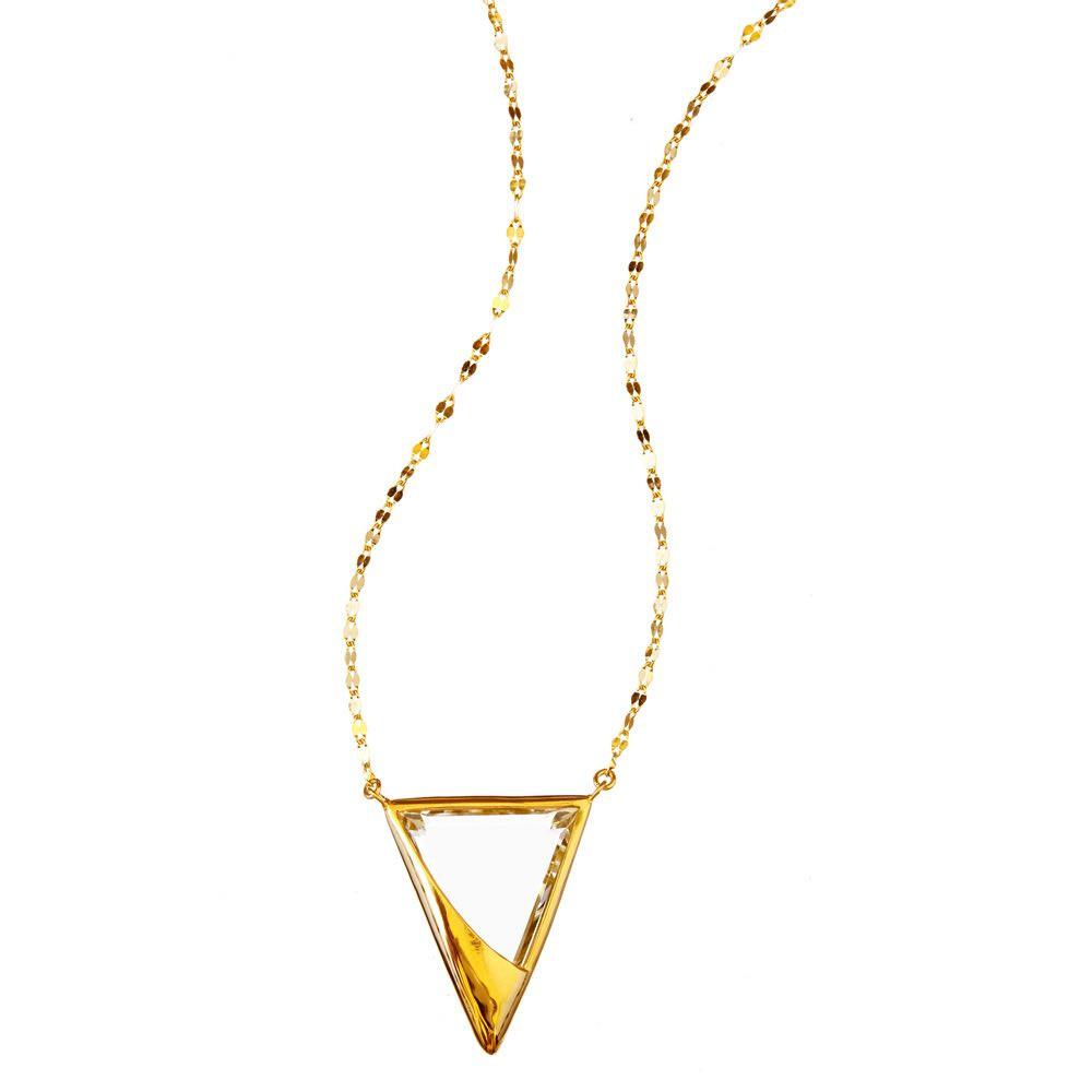 New Lana Jetset Crystal Charm Necklace