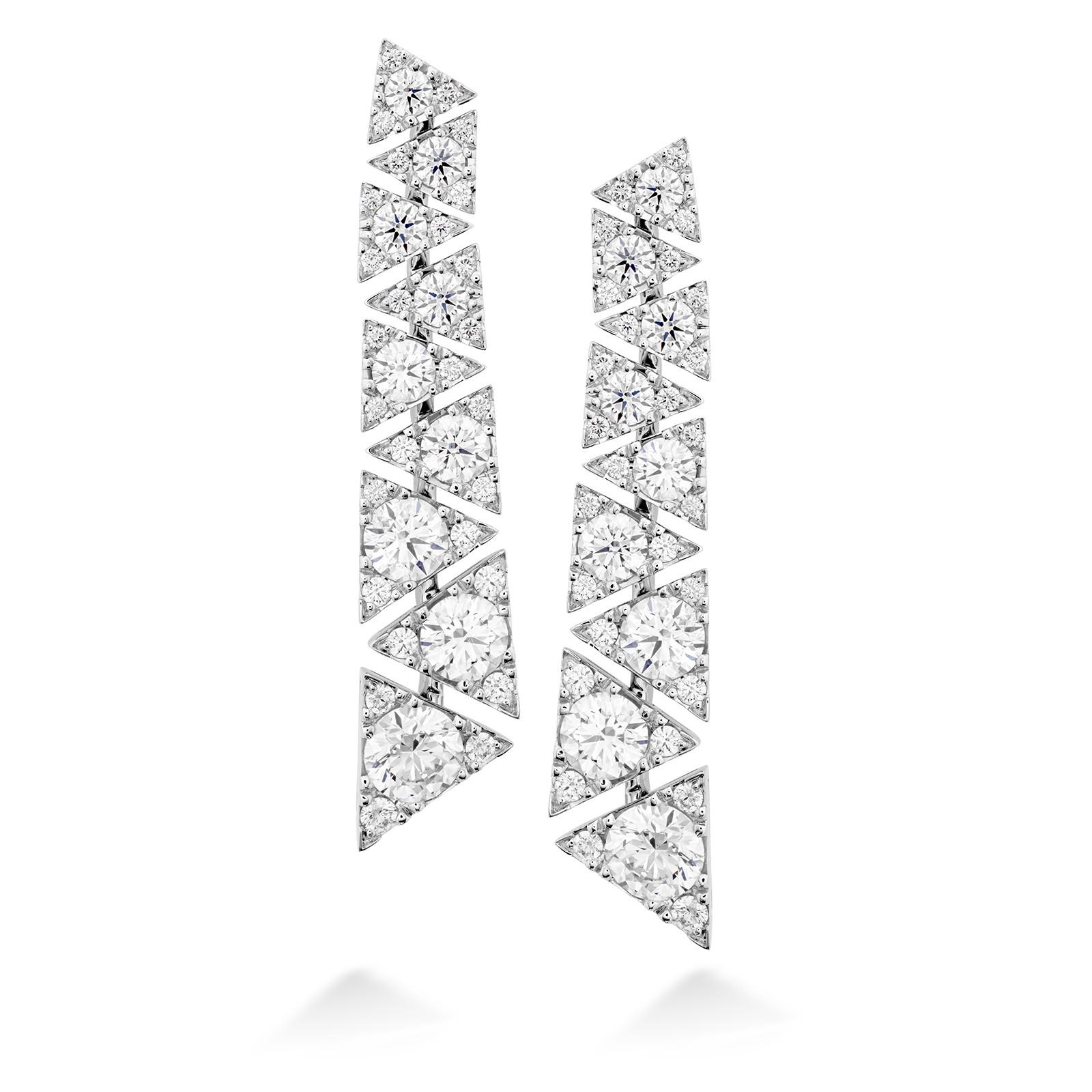New Hearts On Fire® 3.02 CTW Diamond Triplicity Drop Earrings