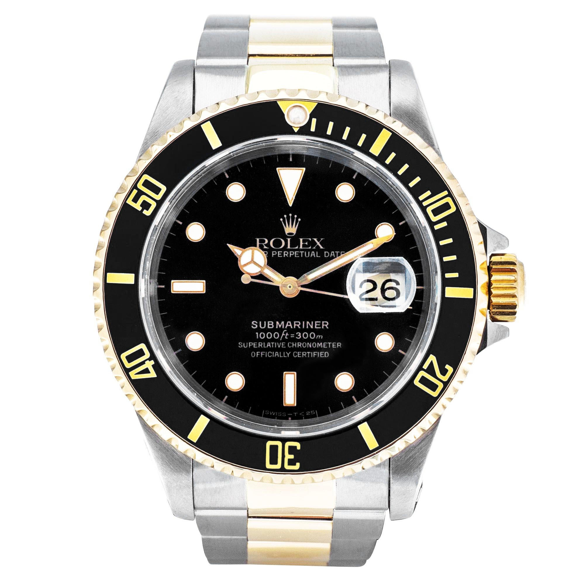 Pre-Owned Men's Two-Tone Rolex Submariner