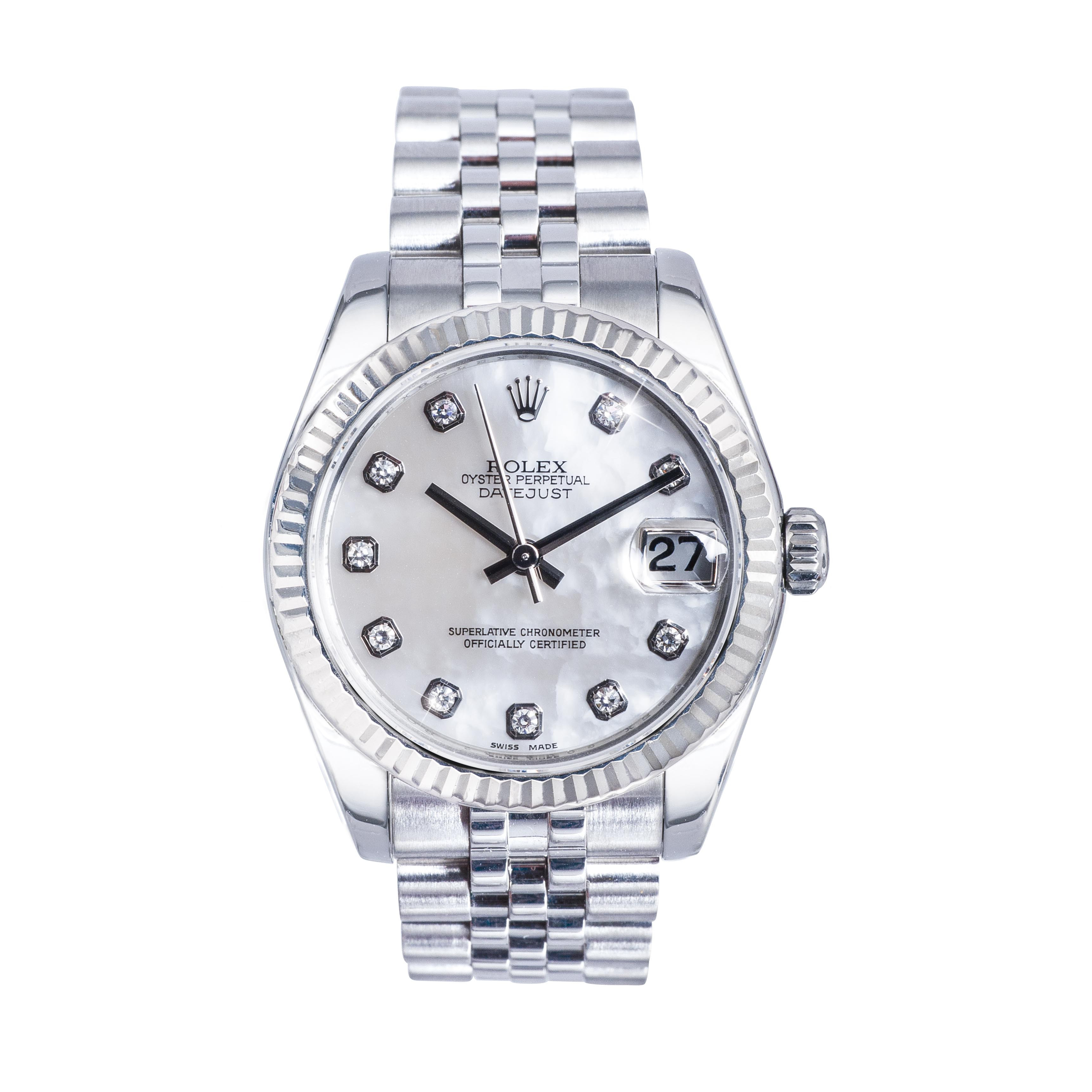Pre-Owned Midsize Rolex Datejust