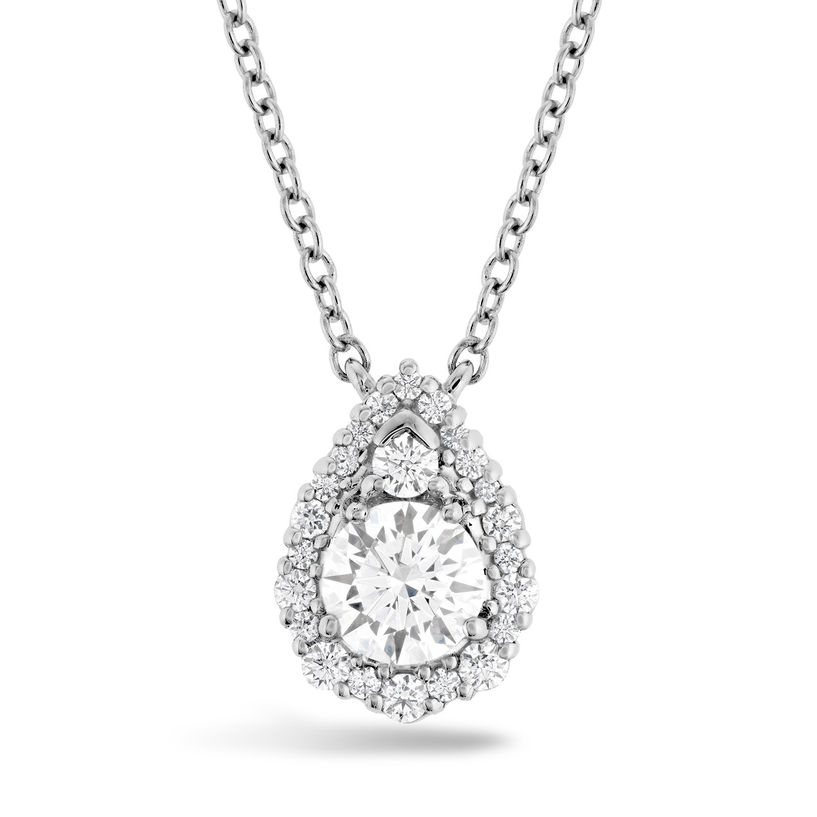 New Hearts On Fire® 1.05 CTW Diamond Teardrop Necklace