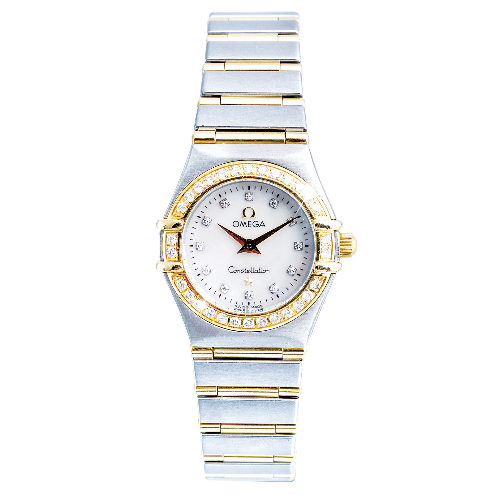 Pre-Owned Women's Two-Tone Omega Constellation Mini
