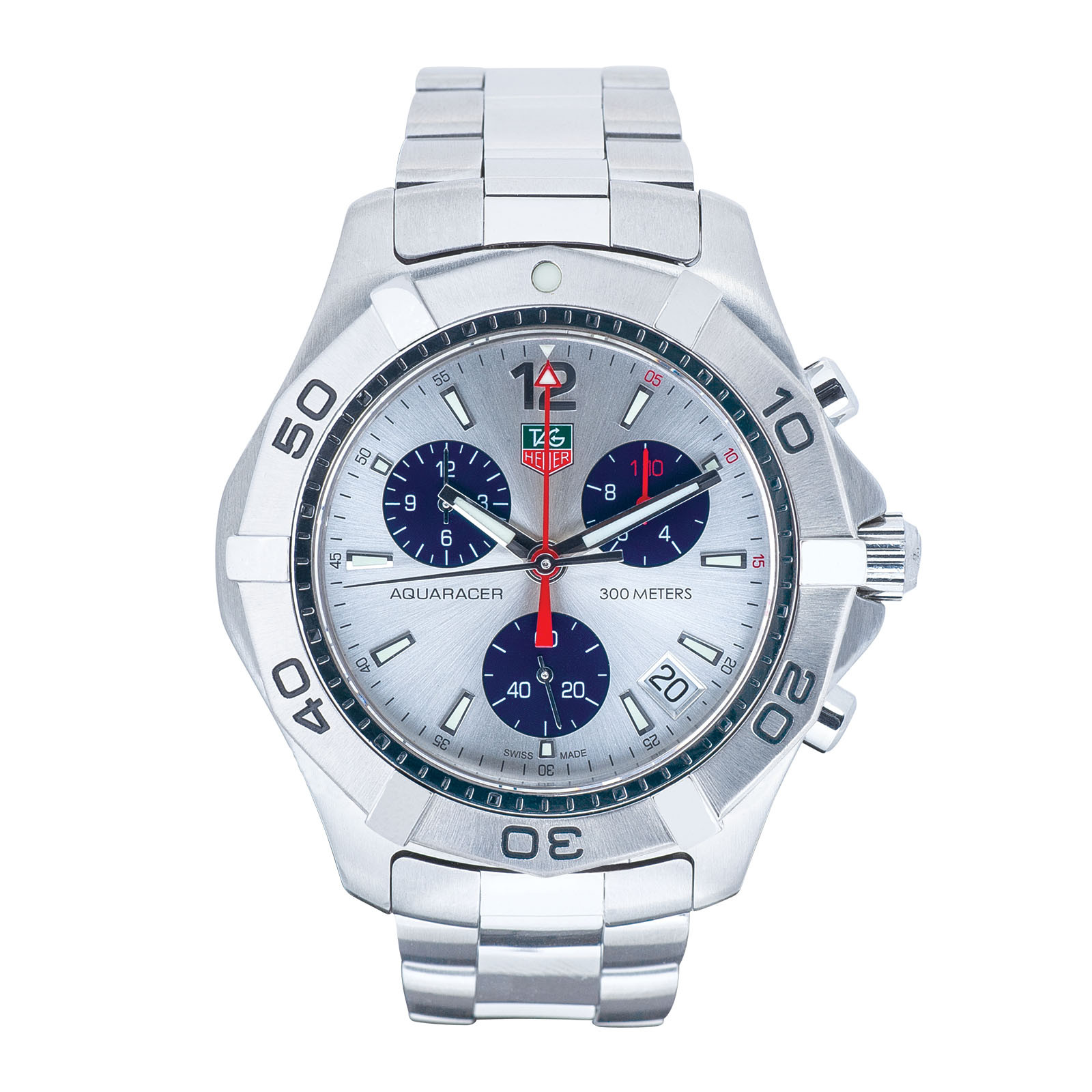 Pre-Owned Men's Tag Heuer Aquaracer 2000 Chronograph