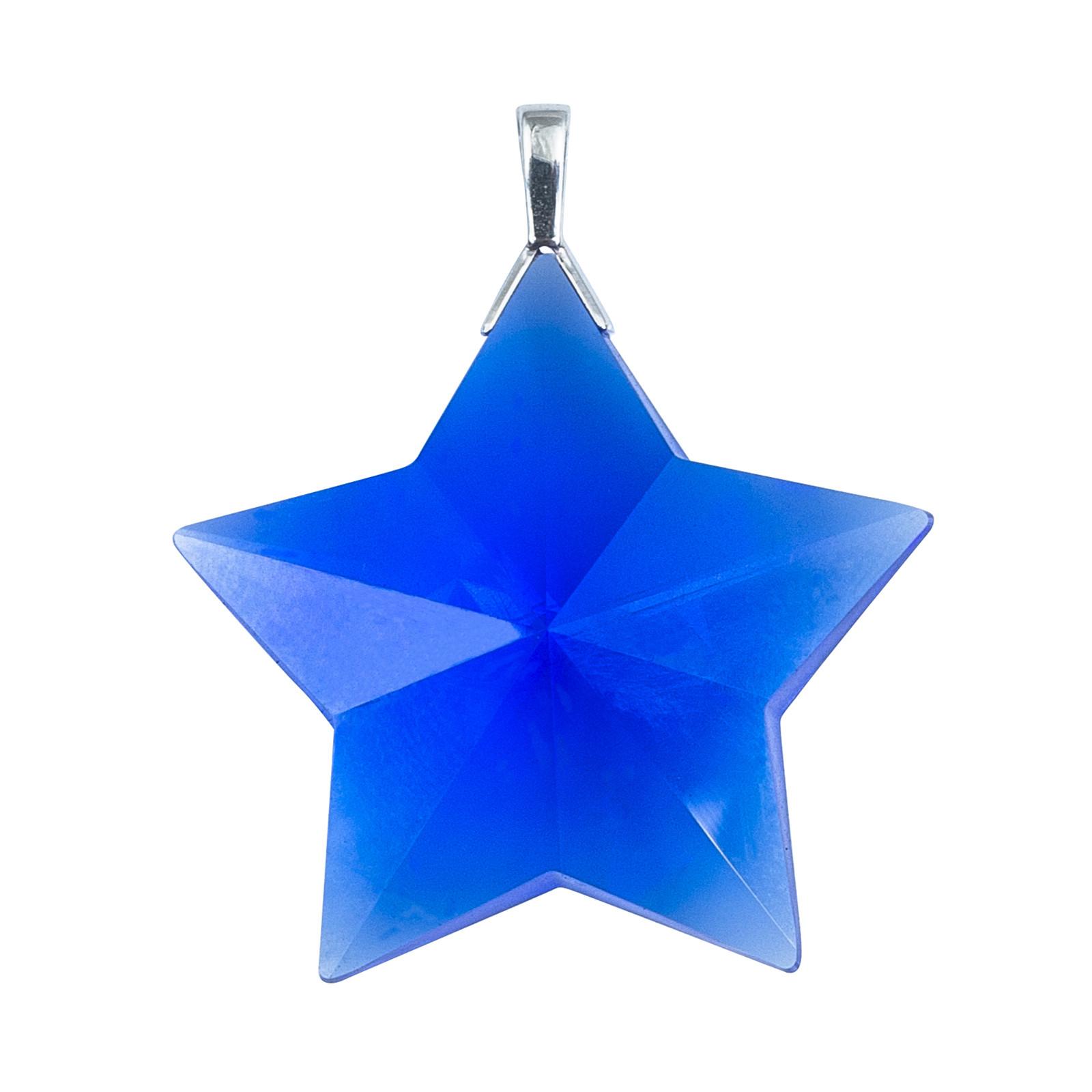 Vintage Tiffany & Co. Blue Crystal Star Charm