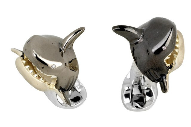 New Deakin & Francis Shark Cufflinks