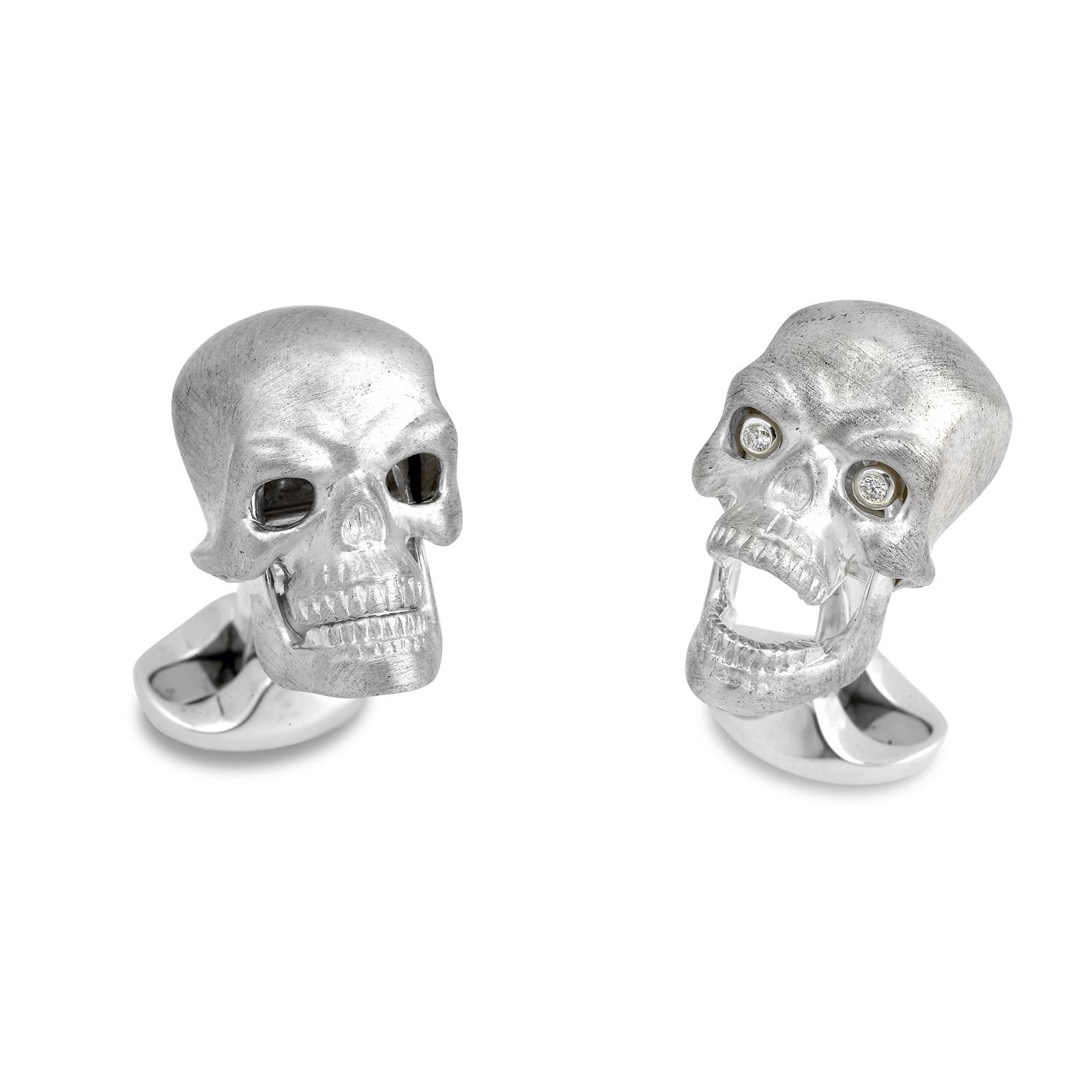 New Deakin & Francis Skull Cufflinks