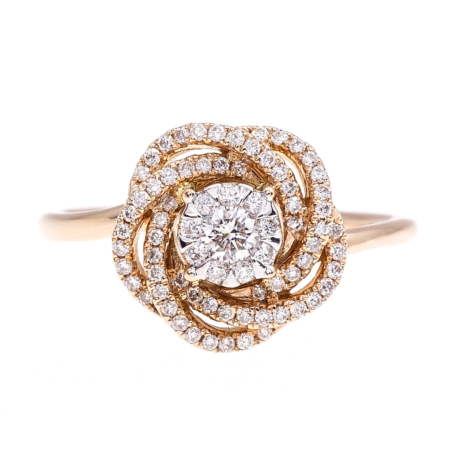 New Mémoire® 0.33 CTW Diamond Bouquets Rosie Ring