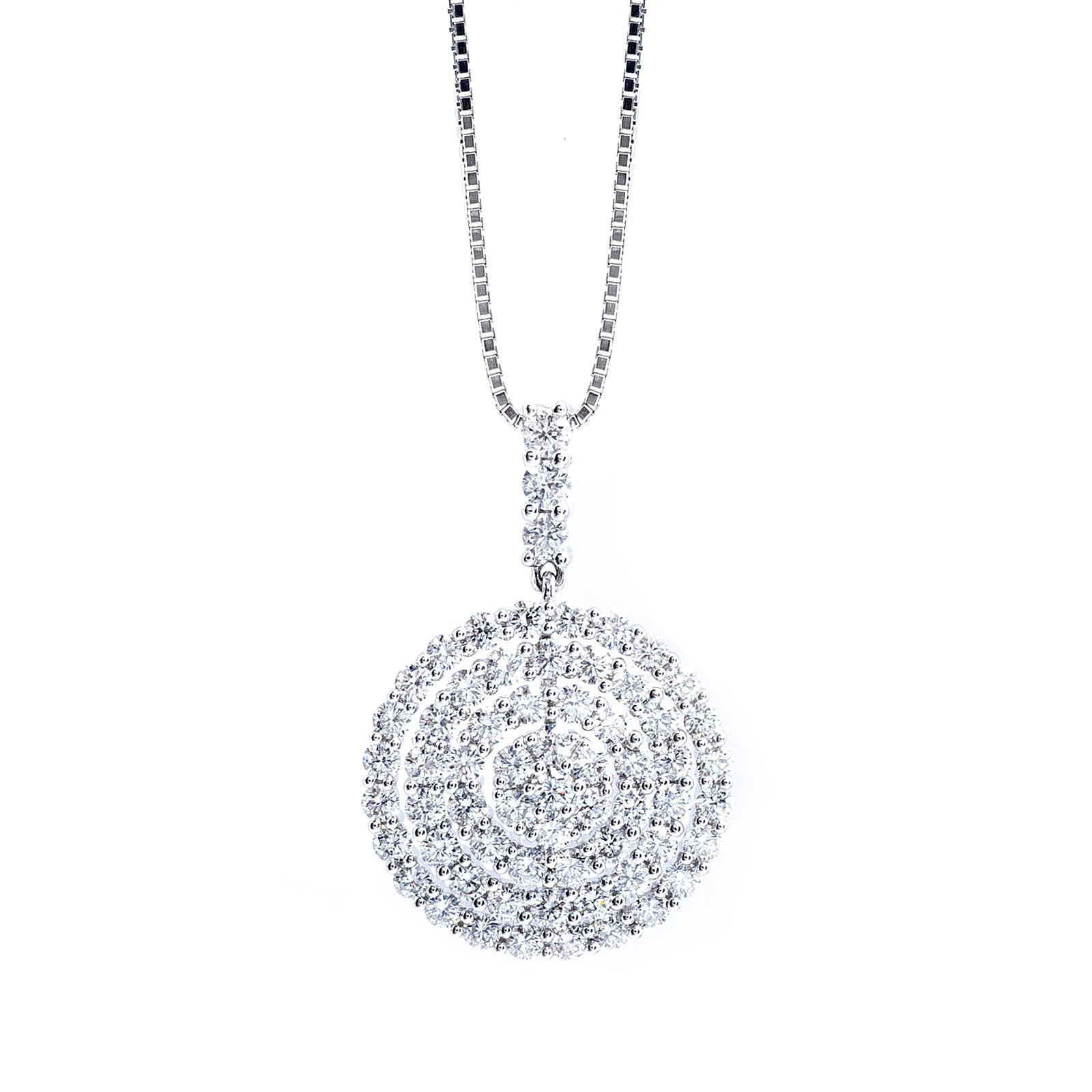 New Mémoire® 1.00 CTW Diamond Noel Necklace
