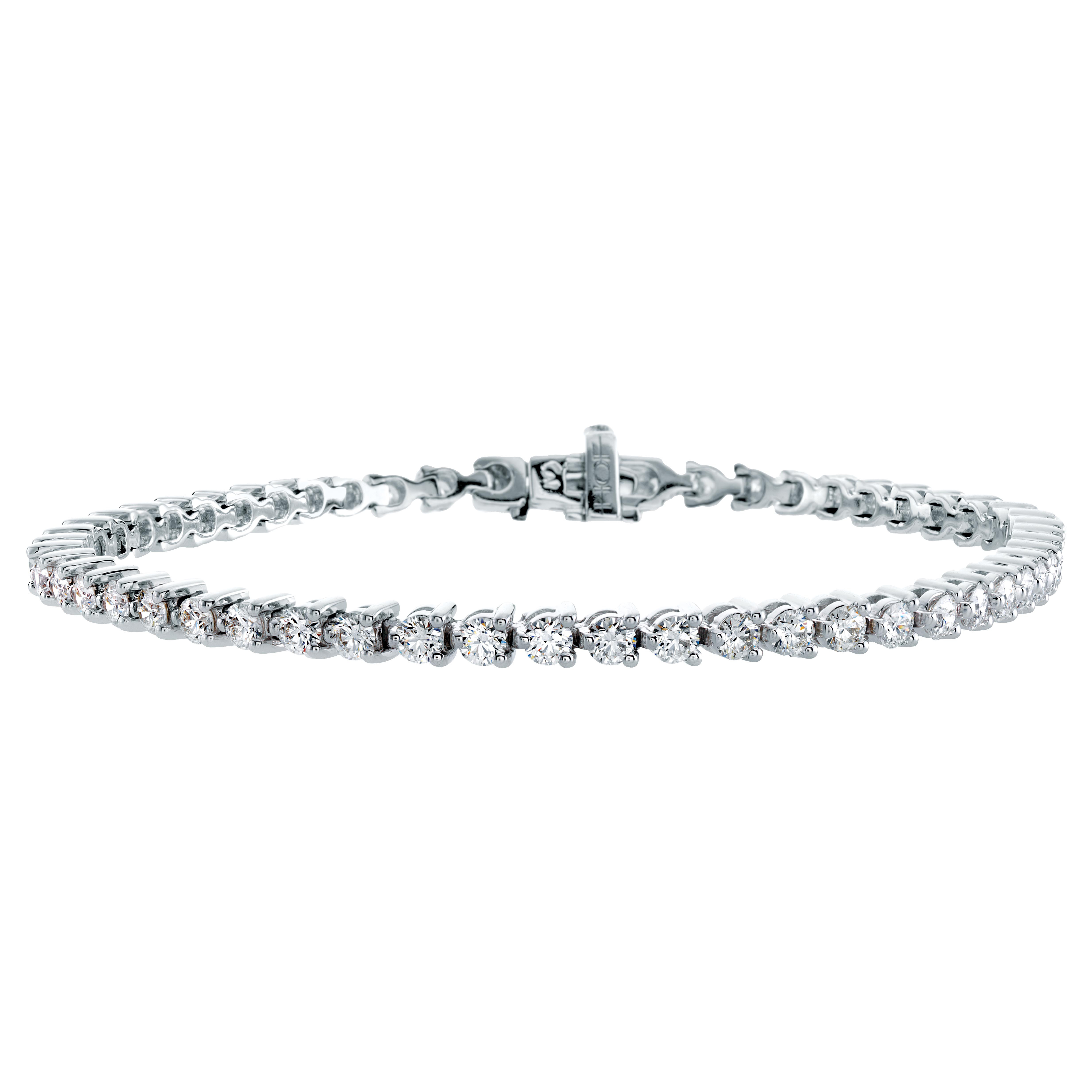 New Hearts On Fire® 3.17 CTW Diamond Select Temptation Tennis Bracelet