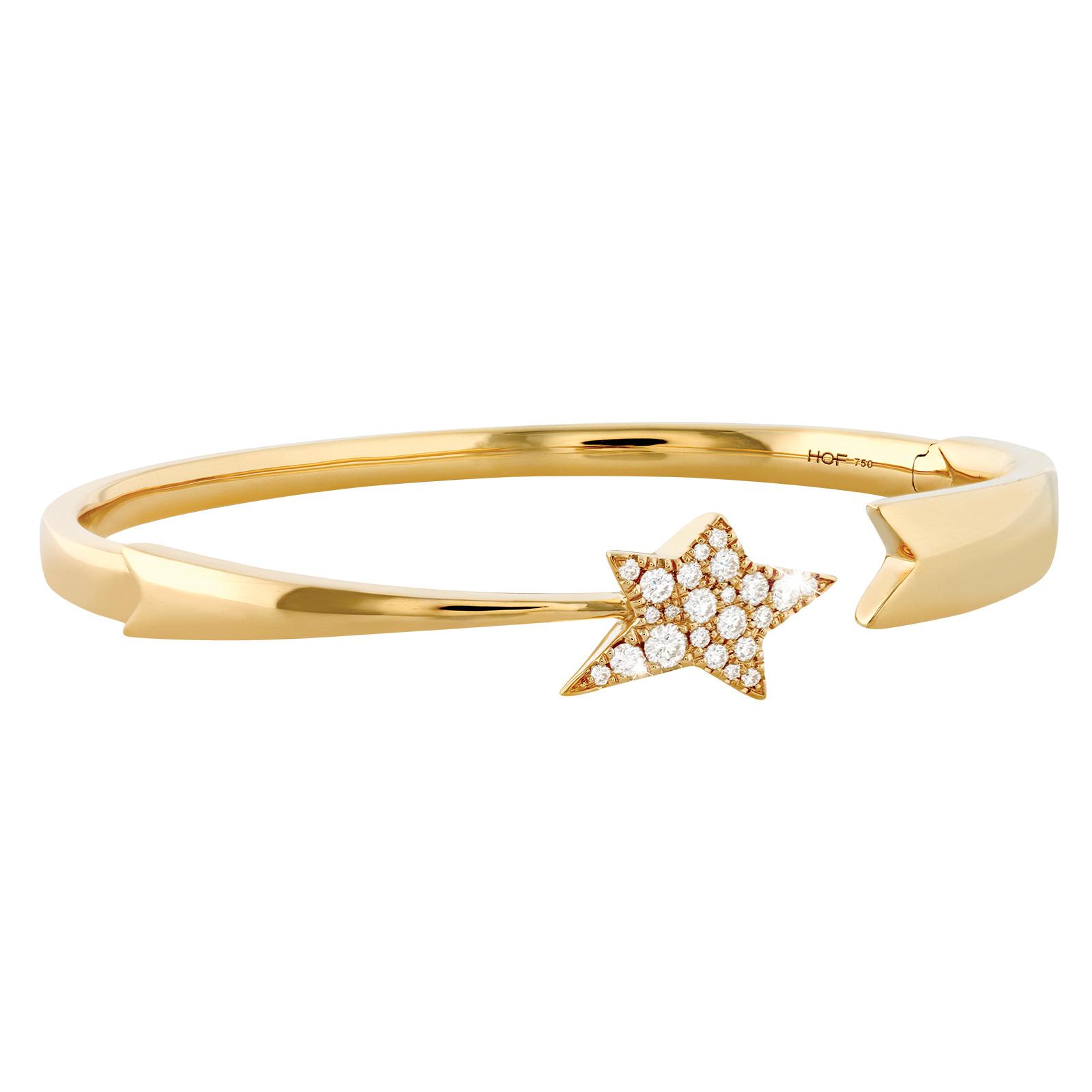 New Hearts On Fire® 0.38 CTW Diamond Illa Cosmic Bangle Bracelet