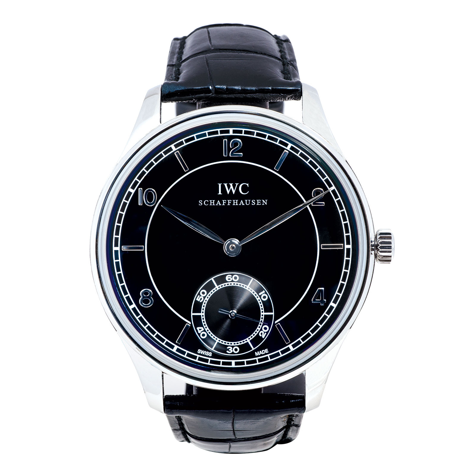 Pre-Owned Men's IWC Portuguese Hand-Wound Vintage Collection
