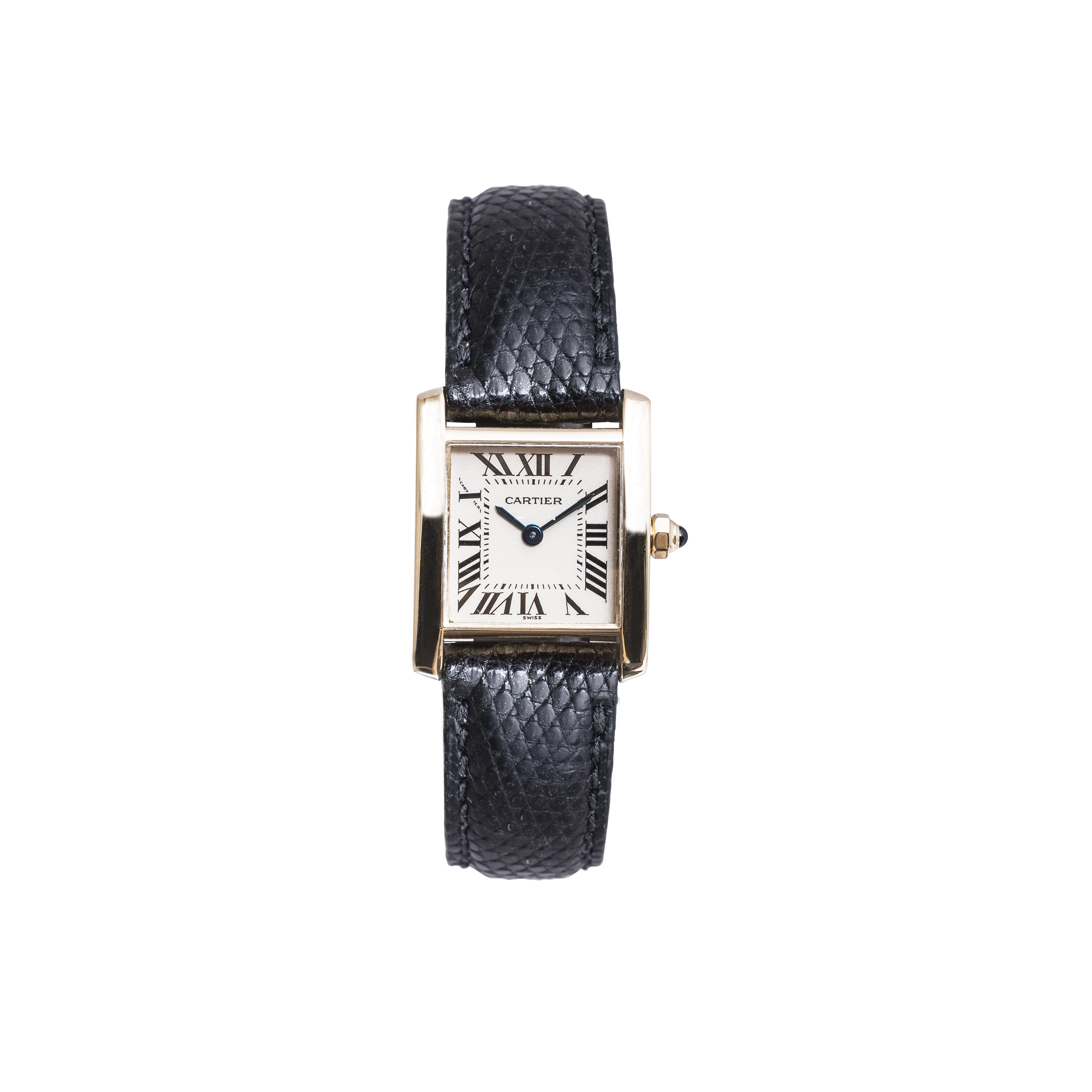 Pre-Owned Women's Cartier Small Tank Francaise