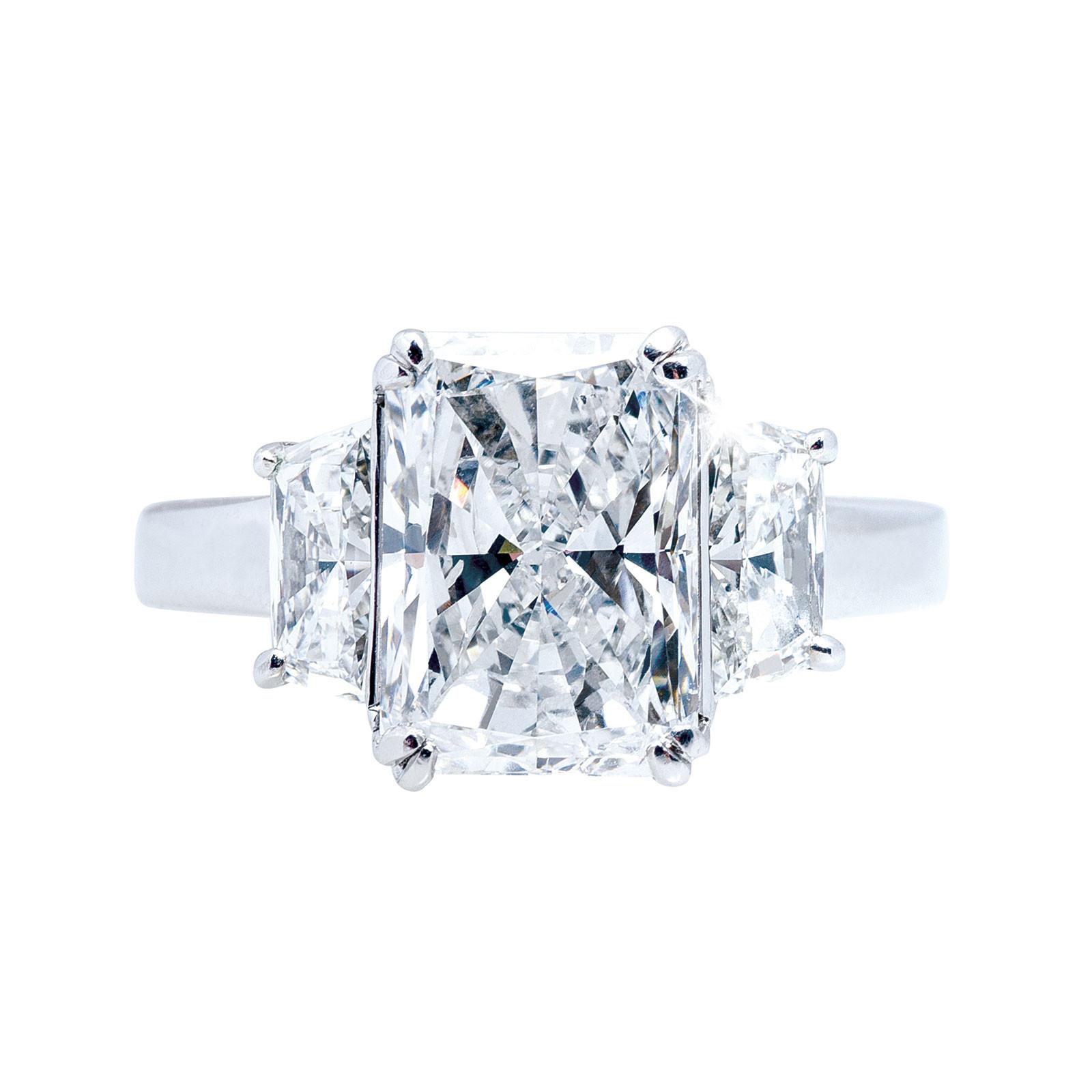 Vintage 5.17 CTW Diamond Engagement Ring