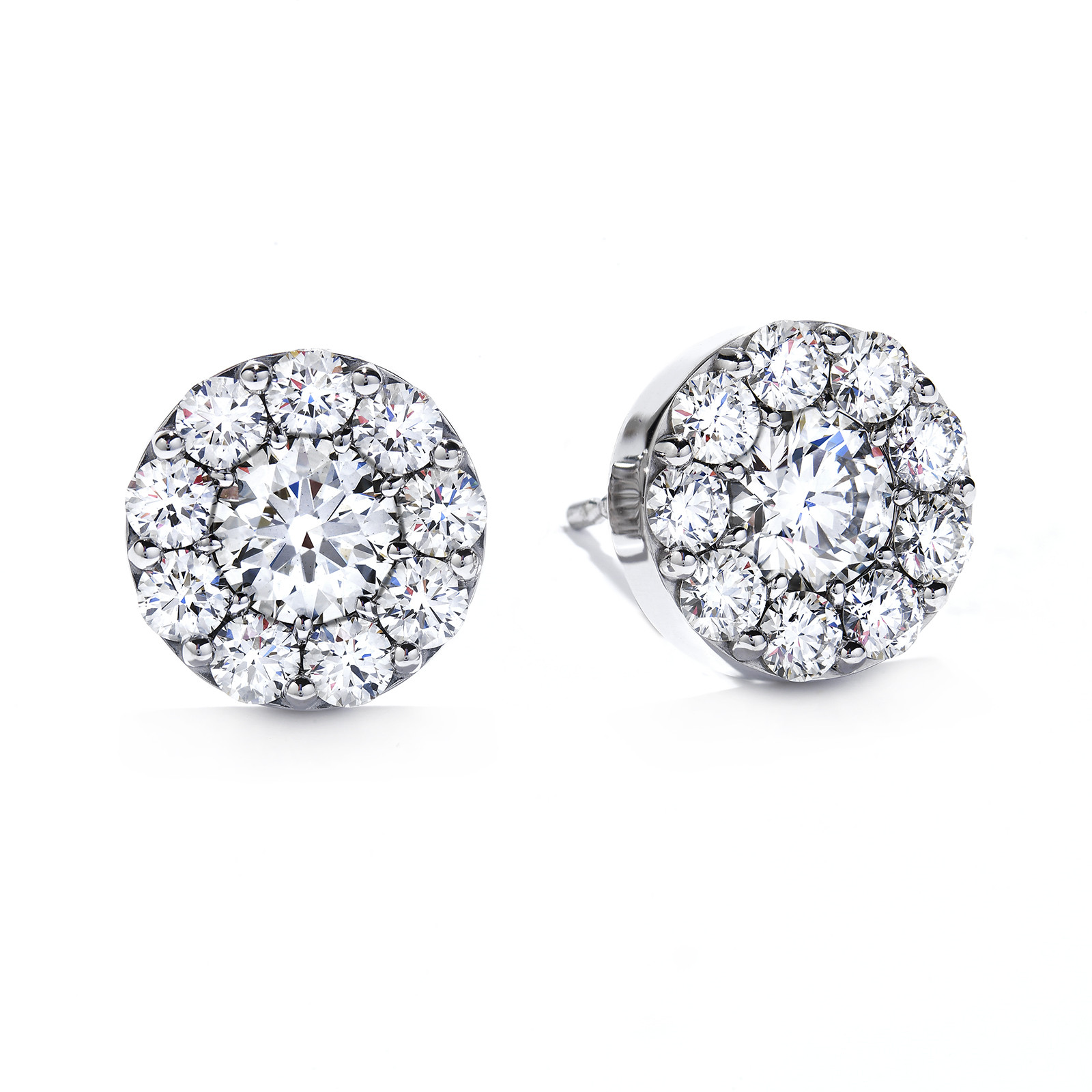 New Hearts On Fire® 0.51 CTW Diamond Fulfillment Stud Earrings
