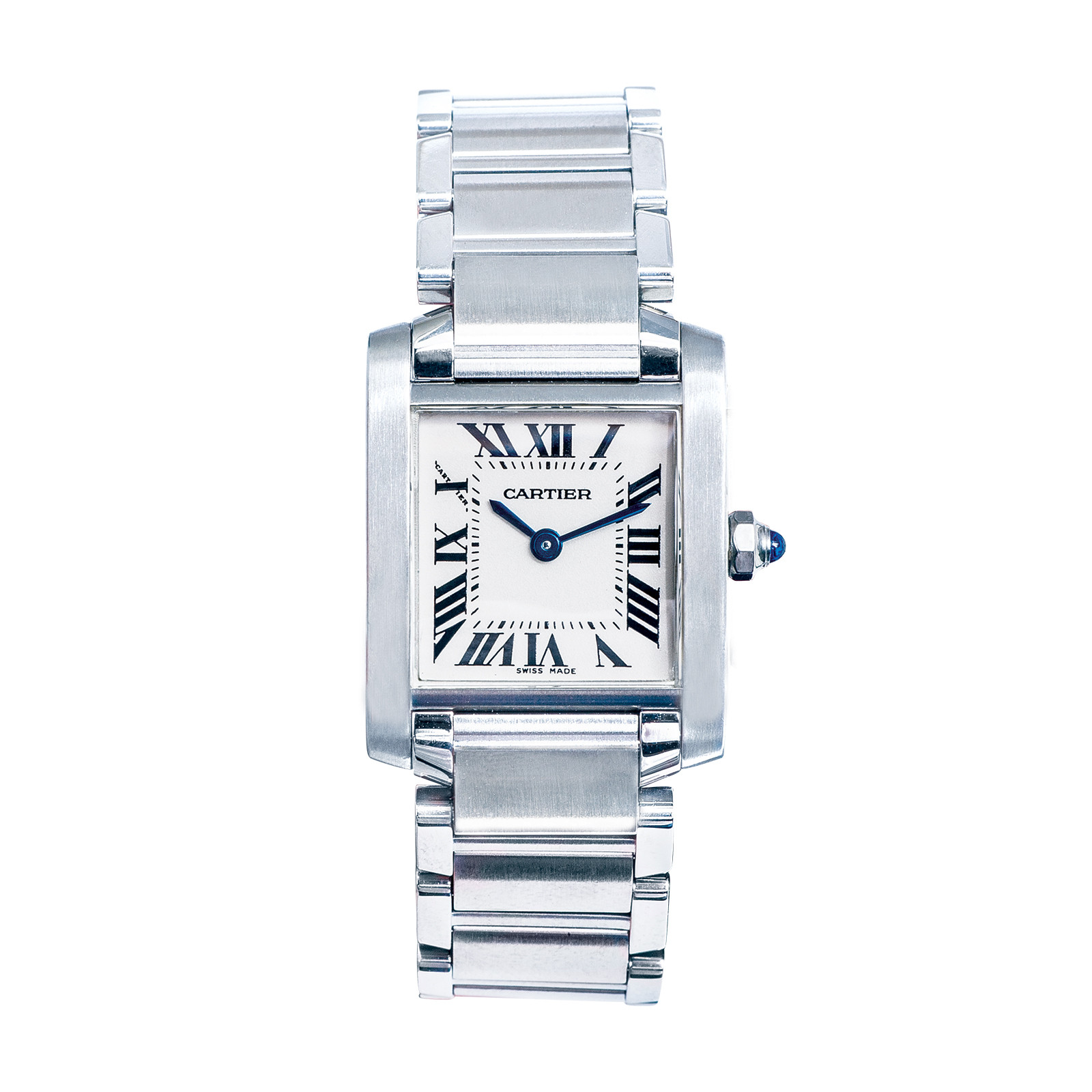 Pre-Owned Woman's Cartier Small Tank Francaise