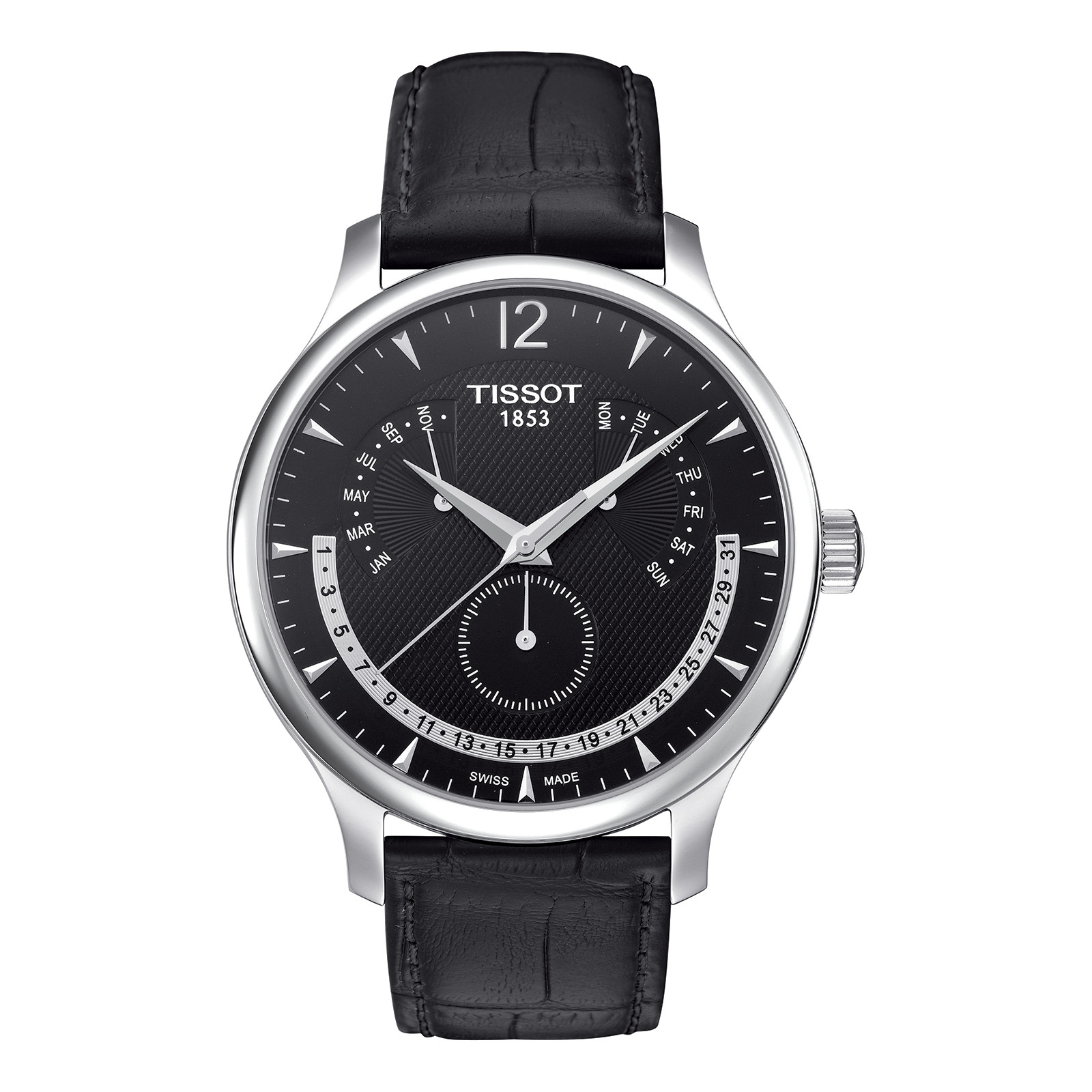 New Men's Tissot Tradition Perpetual Calendar