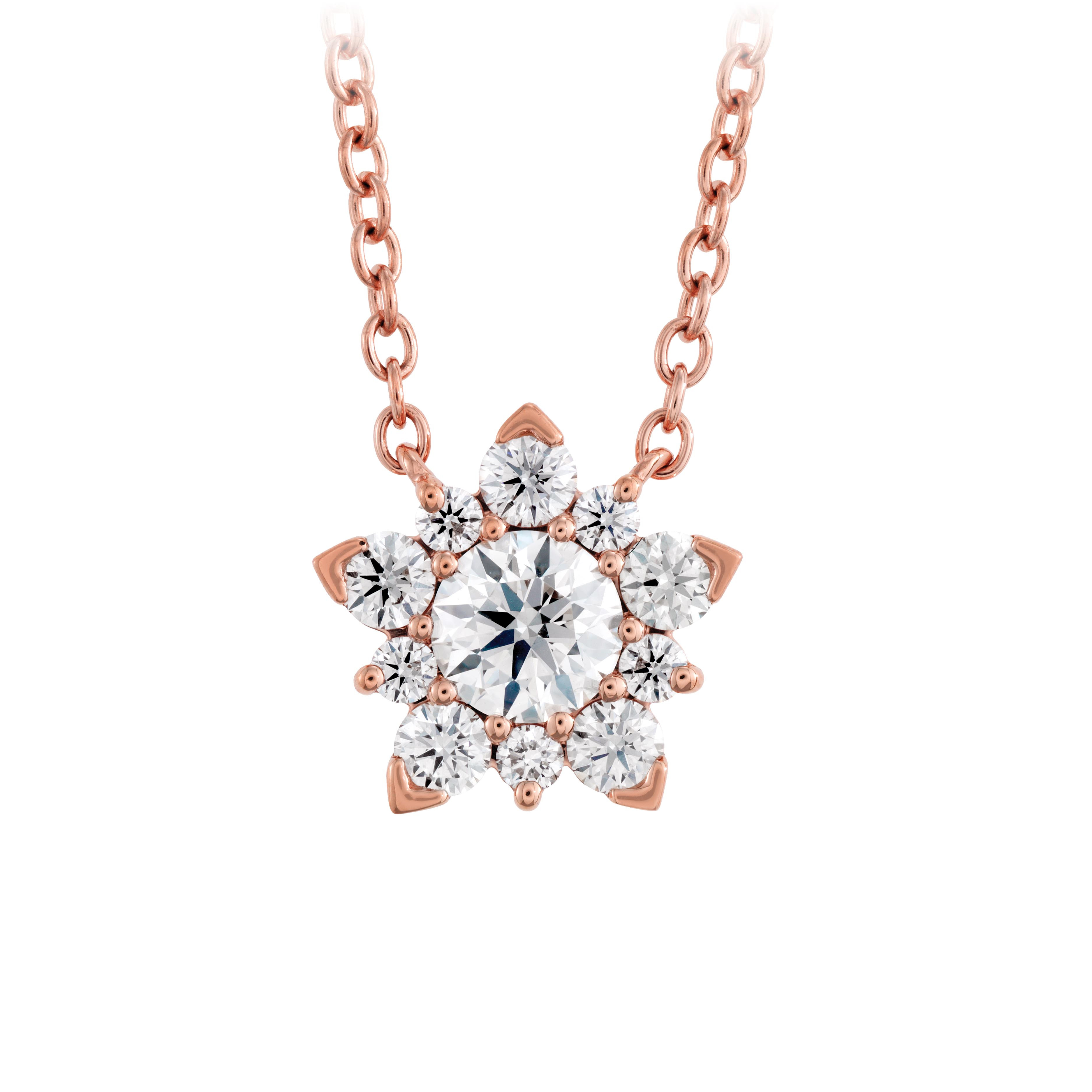 New Hearts On Fire® 0.40 CTW Diamond Aerial Cluster Necklace