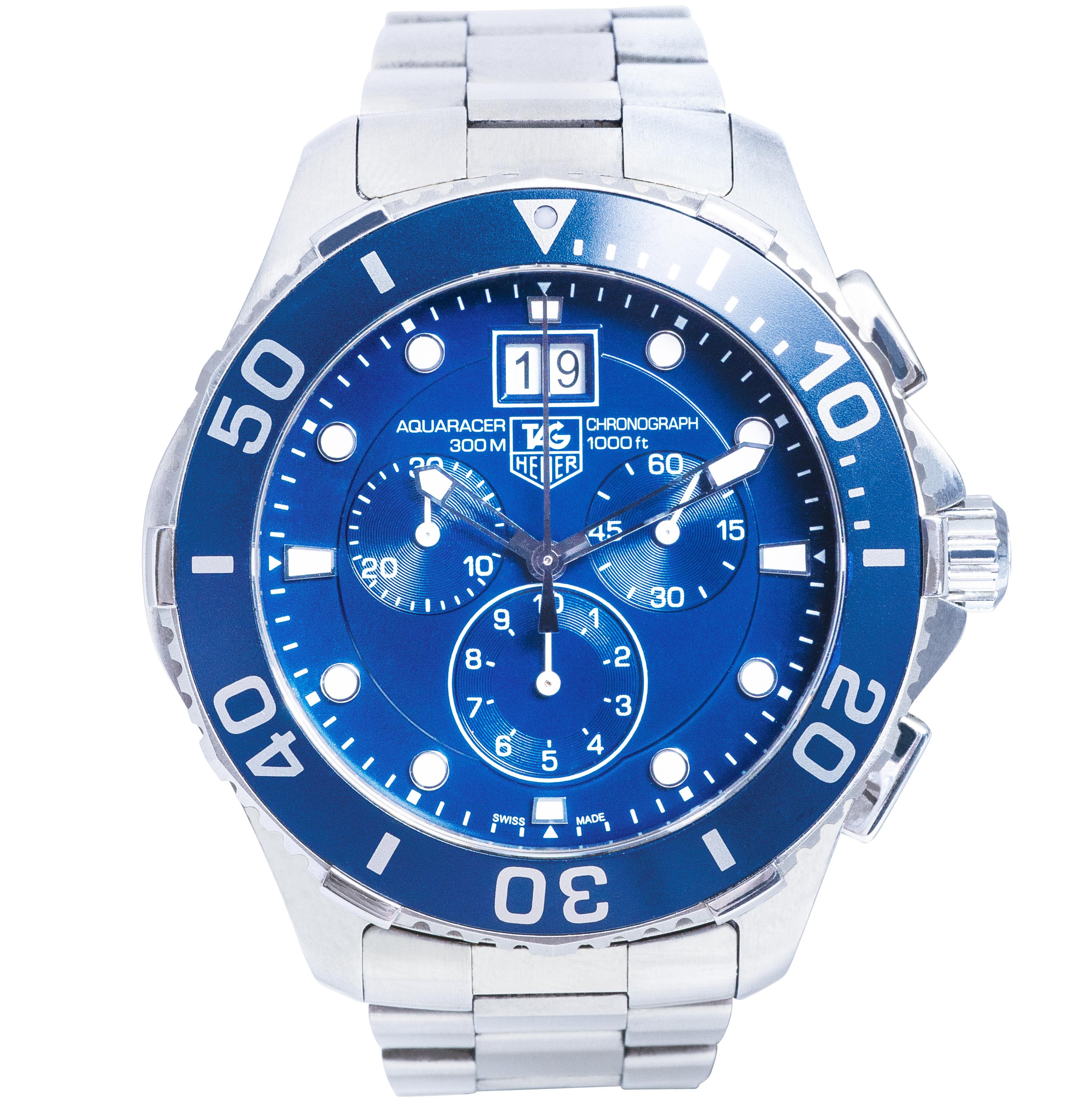 Pre-Owned Men's Tag Heuer Aquaracer