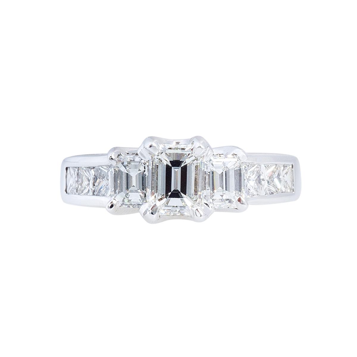Vintage 1.86 CTW Diamond Engagement Ring
