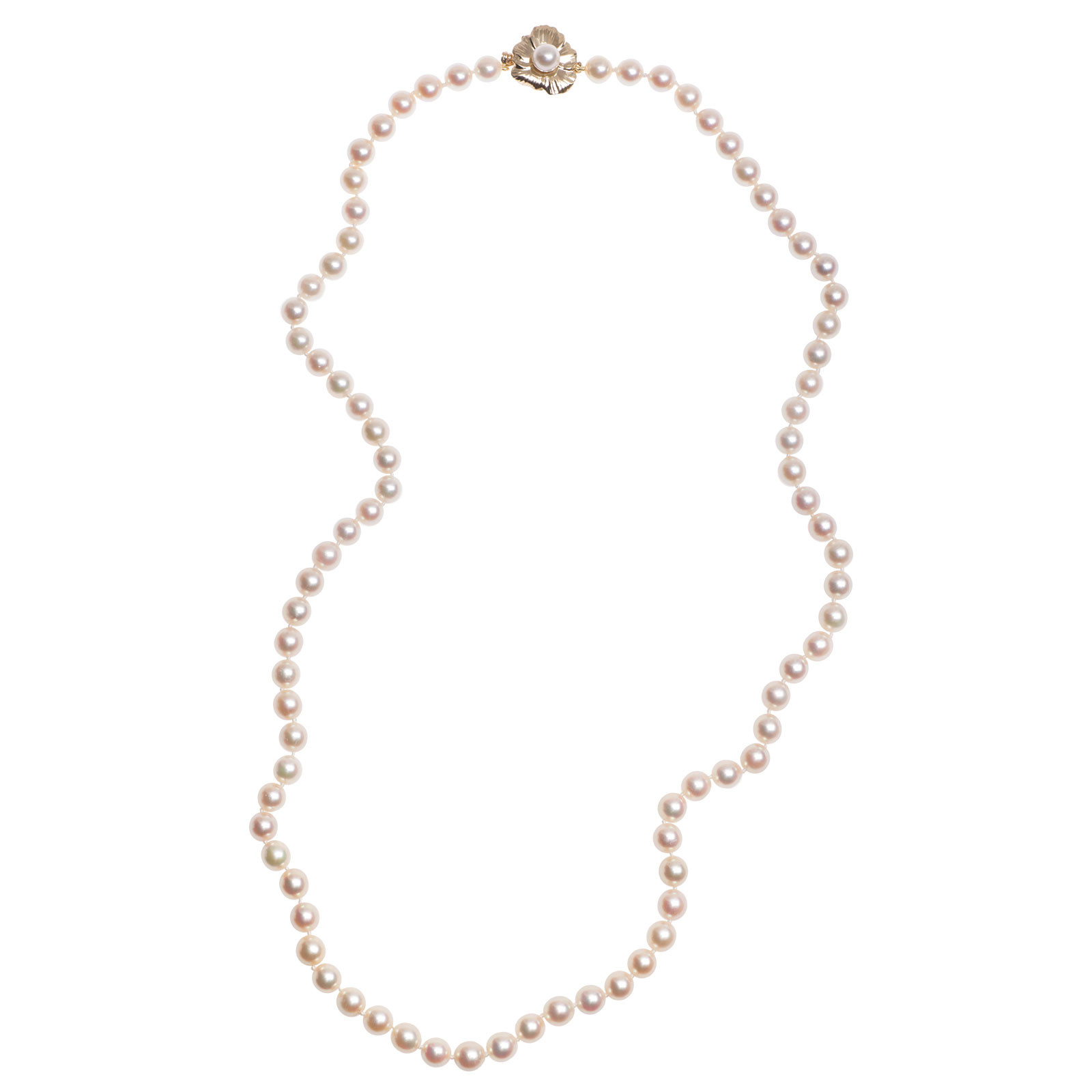 Vintage Akoya Pearl Necklace
