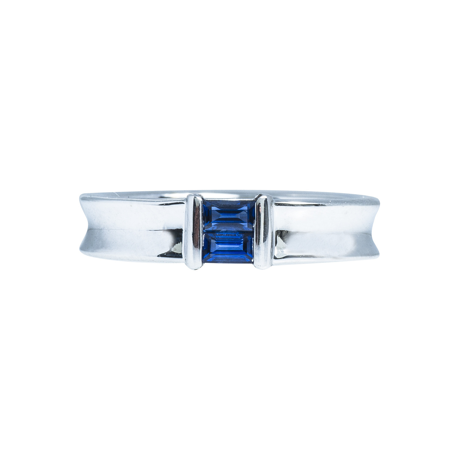 Vintage Tiffany & Co. 0.27 CTW Sapphire Stackable Band