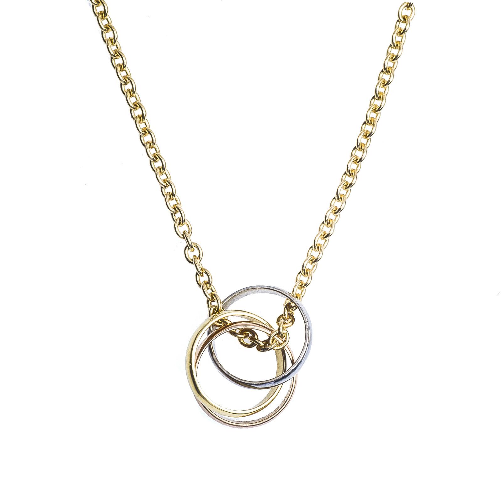 Vintage Cartier Trinity Necklace