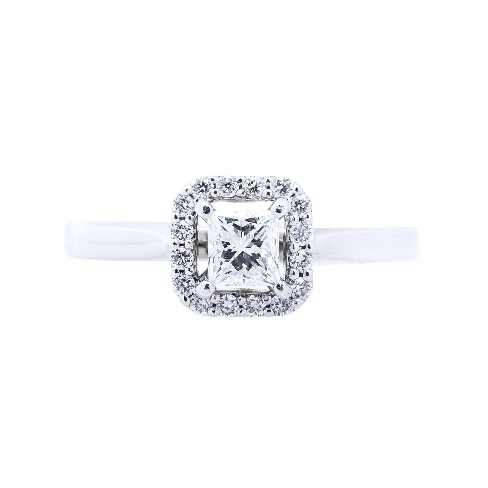 Vintage 0.39 CTW Diamond Engagement Ring