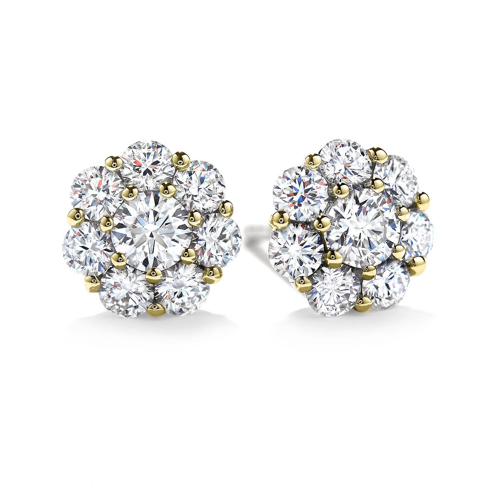 Vintage Hearts on Fire® 0.46 CTW Diamond Beloved Earrings