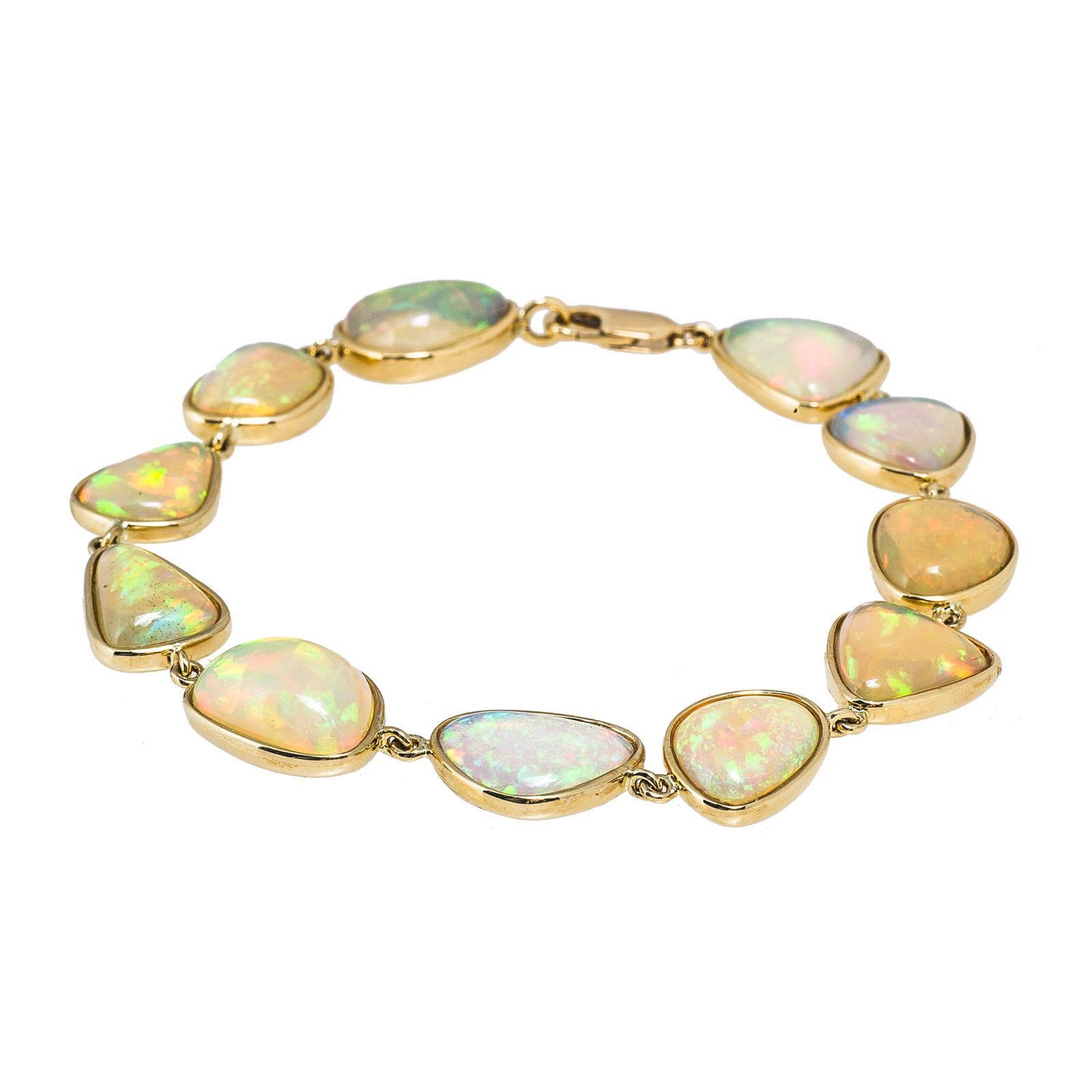 New 31.73 CTW Opal Bracelet