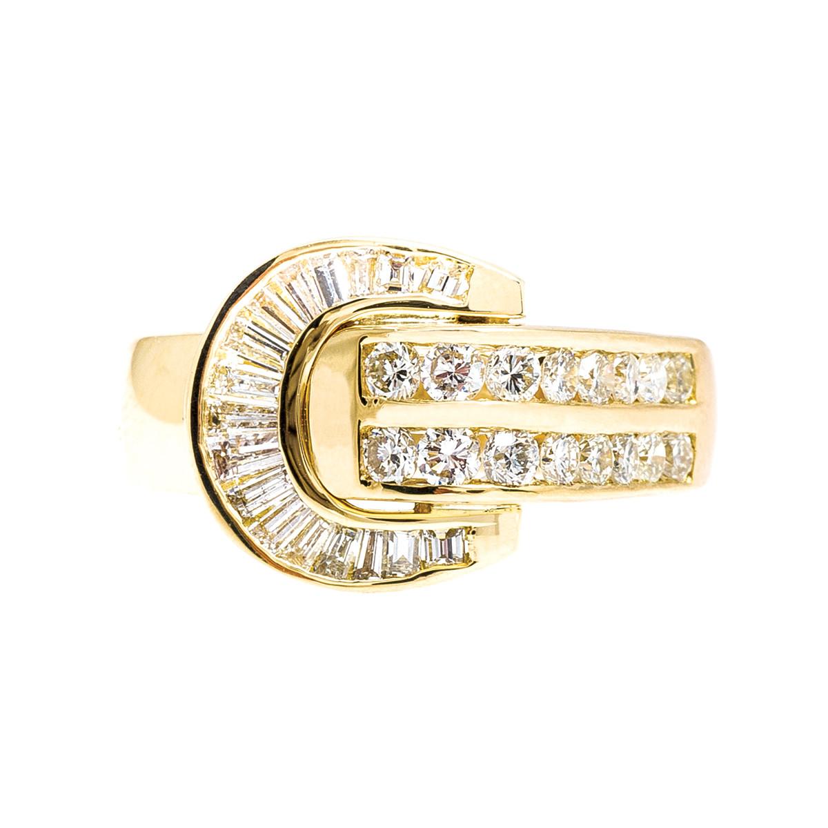 Vintage 0.92 CTW Diamond Ring