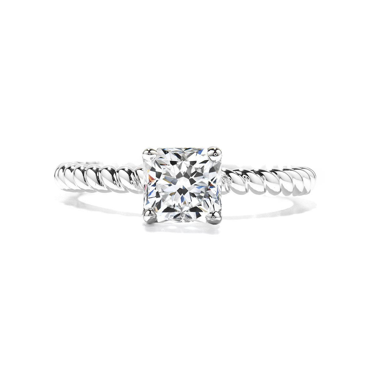 New Heart On Fire® Virtuous Engagement Ring Setting