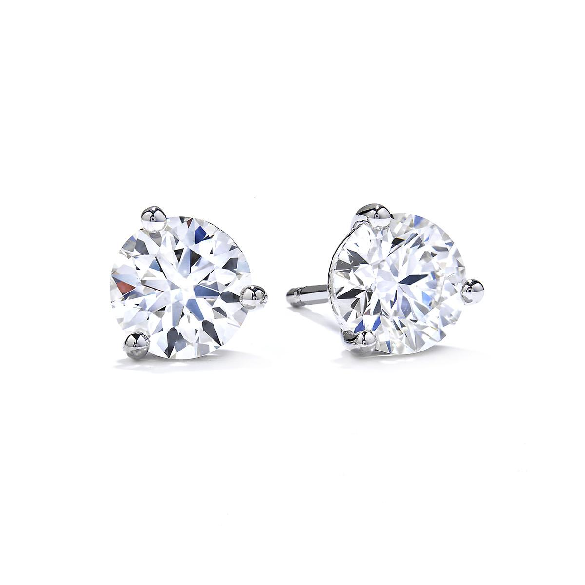 New Hearts On Fire® 1.44 CTW Diamond Select Stud Earrings