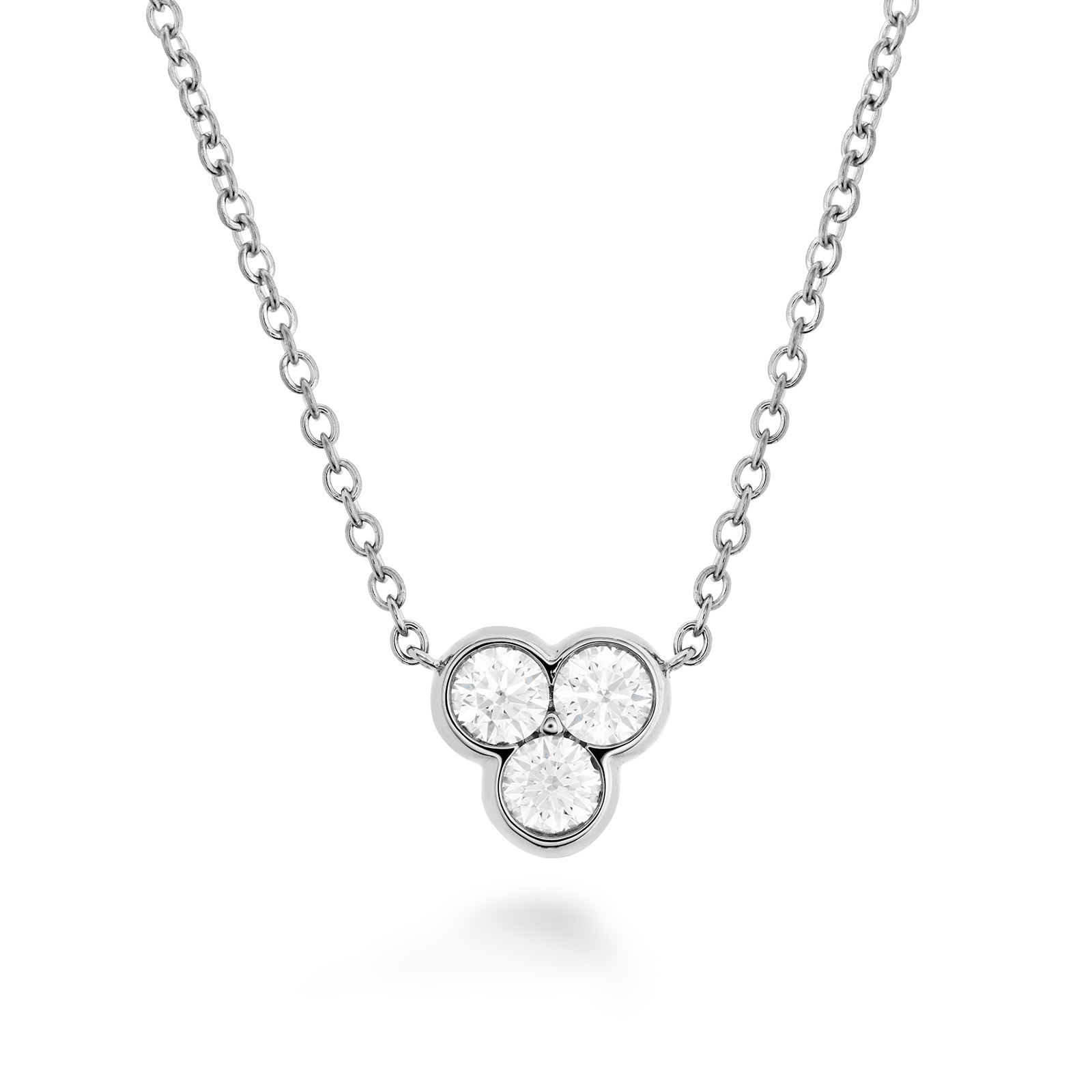 New Hearts On Fire® 0.17 CTW Diamond Effervescence Necklace