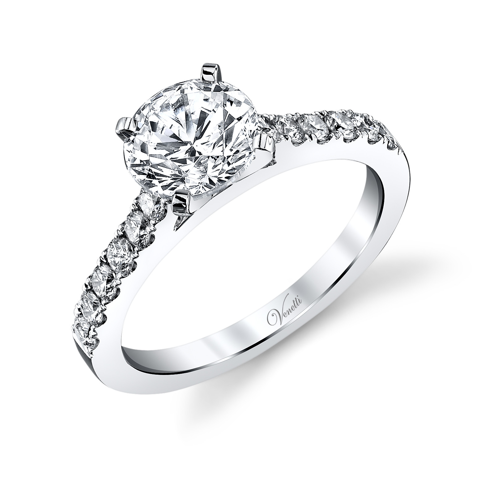 New Venetti 0.43 CTW Diamond Engagement Ring Setting