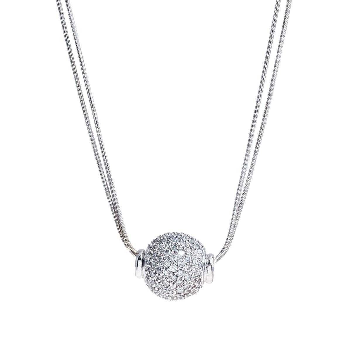 Vintage 2.50 CTW Diamond Necklace