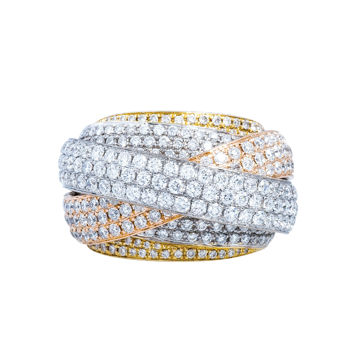 Vintage 4.03 CTW Diamond Ring
